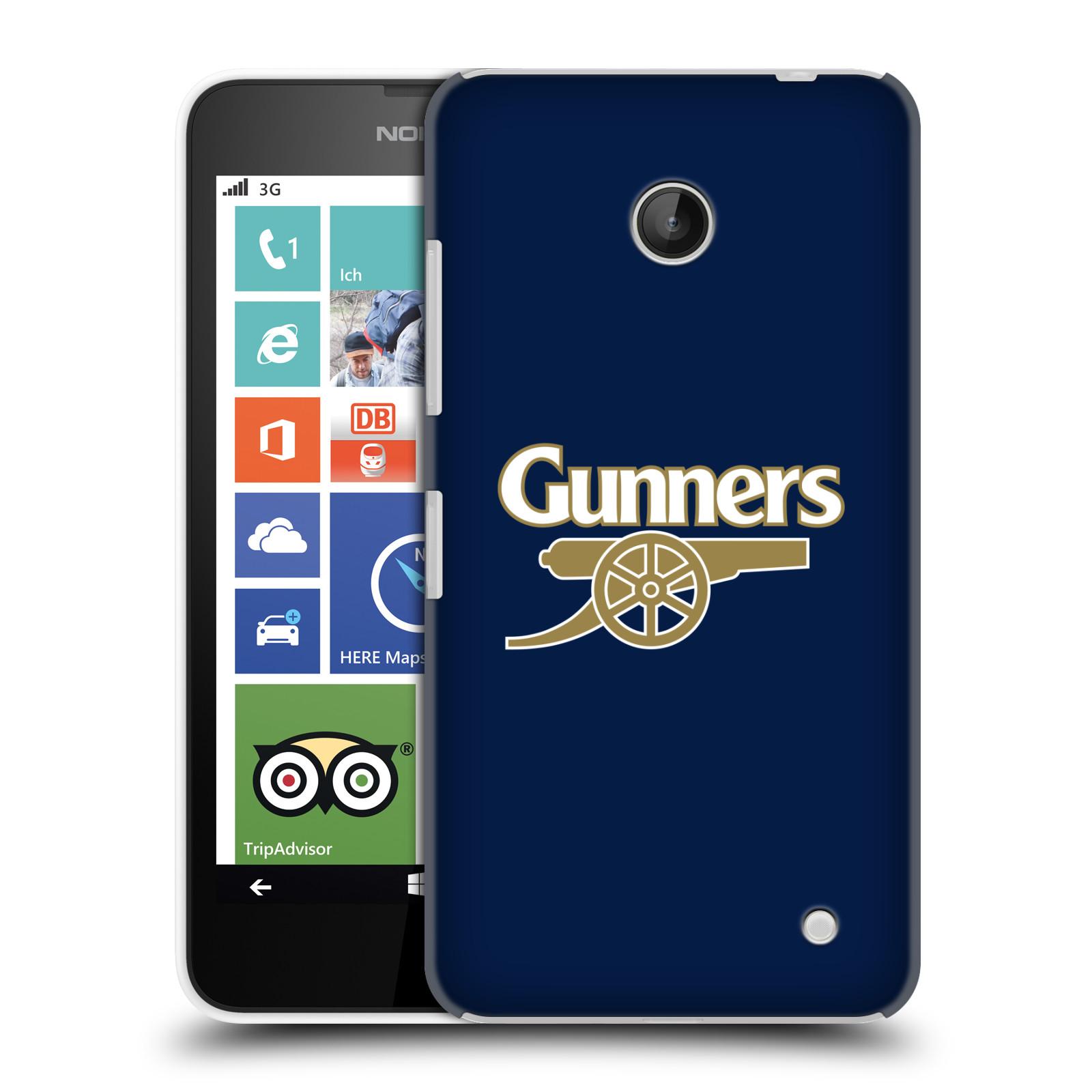 Plastové pouzdro na mobil Nokia Lumia 630 - Head Case - Arsenal FC - Gunners
