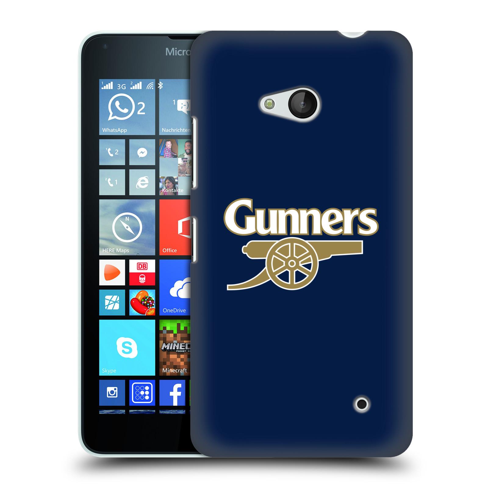 Plastové pouzdro na mobil Microsoft Lumia 640 - Head Case - Arsenal FC - Gunners