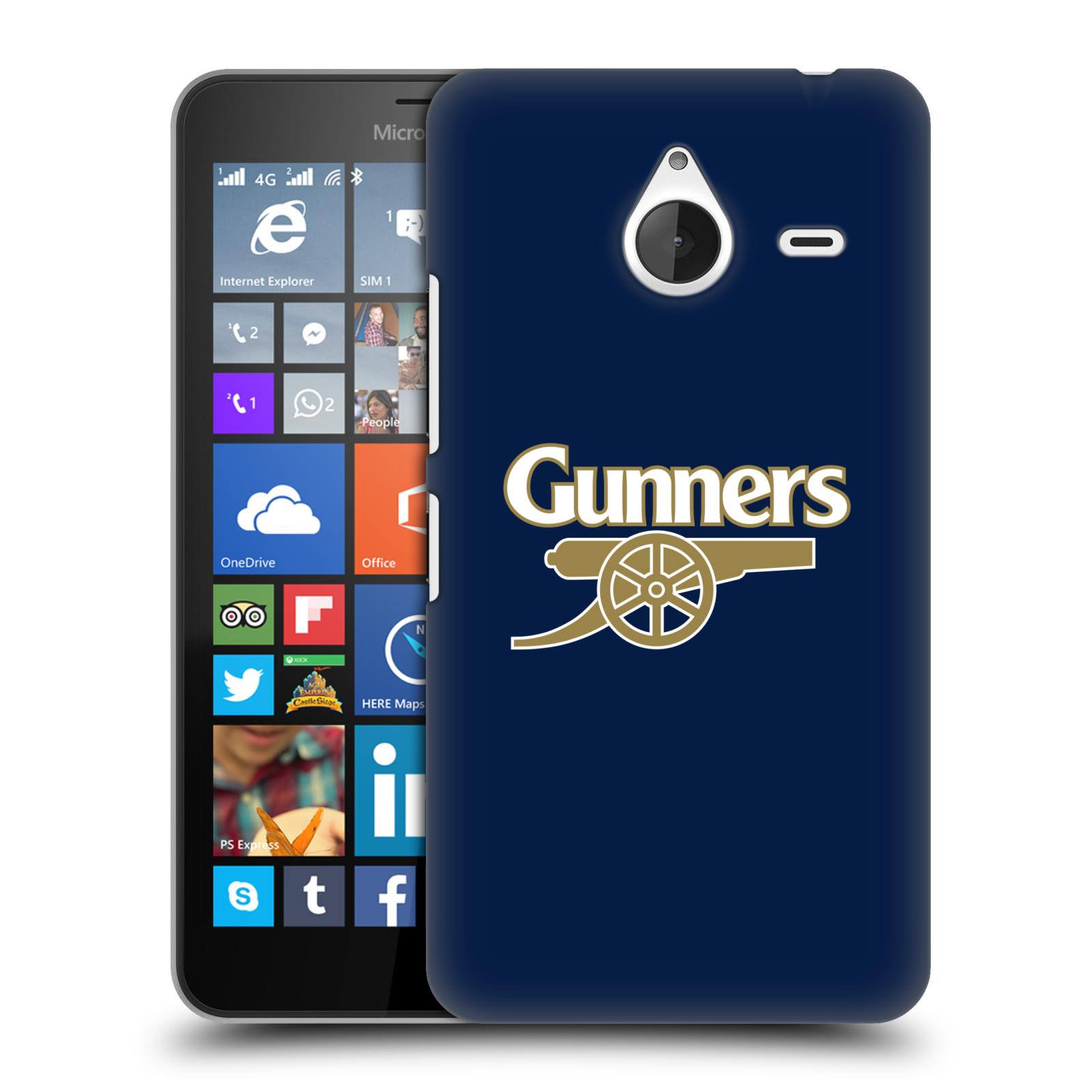 Plastové pouzdro na mobil Microsoft Lumia 640 XL - Head Case - Arsenal FC - Gunners
