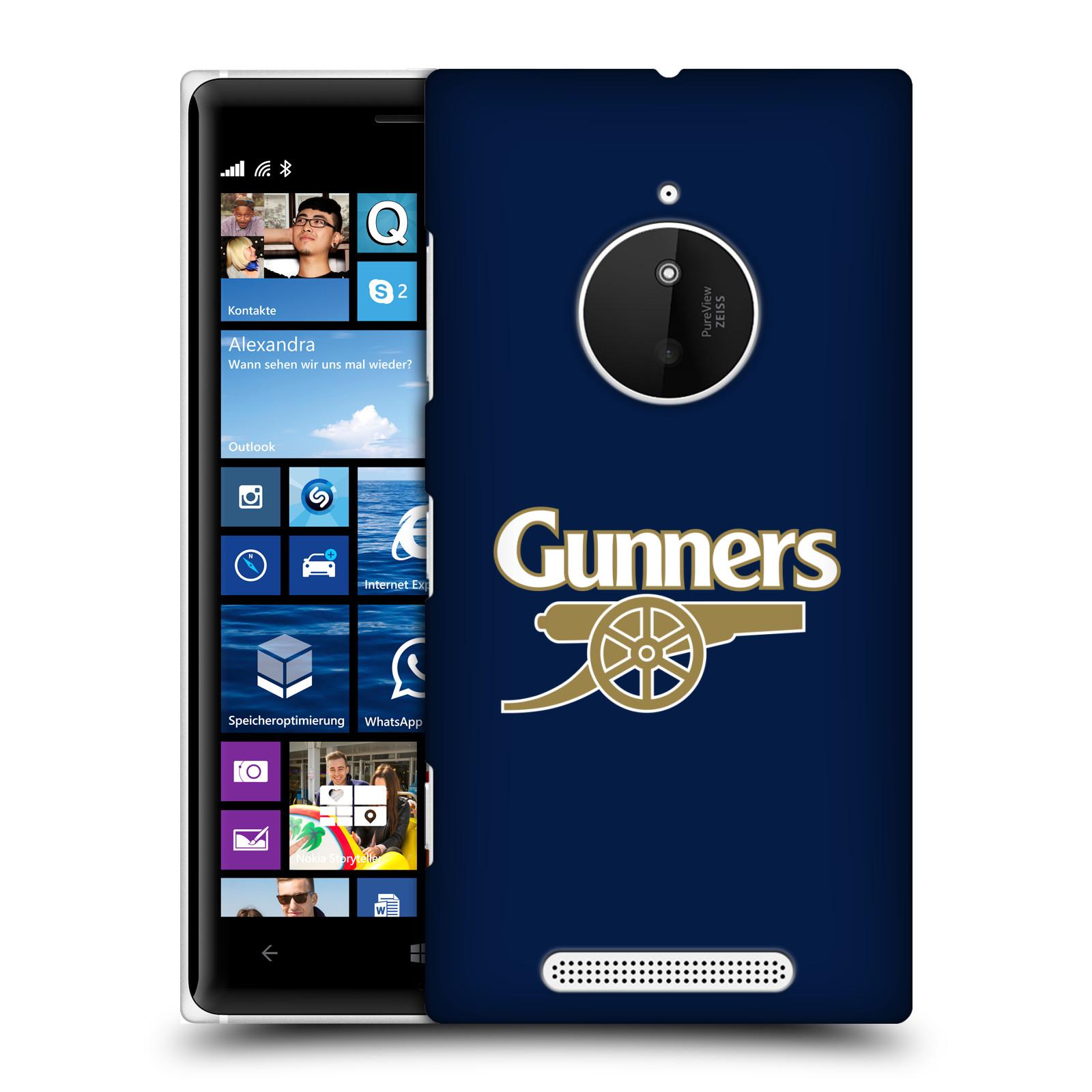 Plastové pouzdro na mobil Nokia Lumia 830 - Head Case - Arsenal FC - Gunners