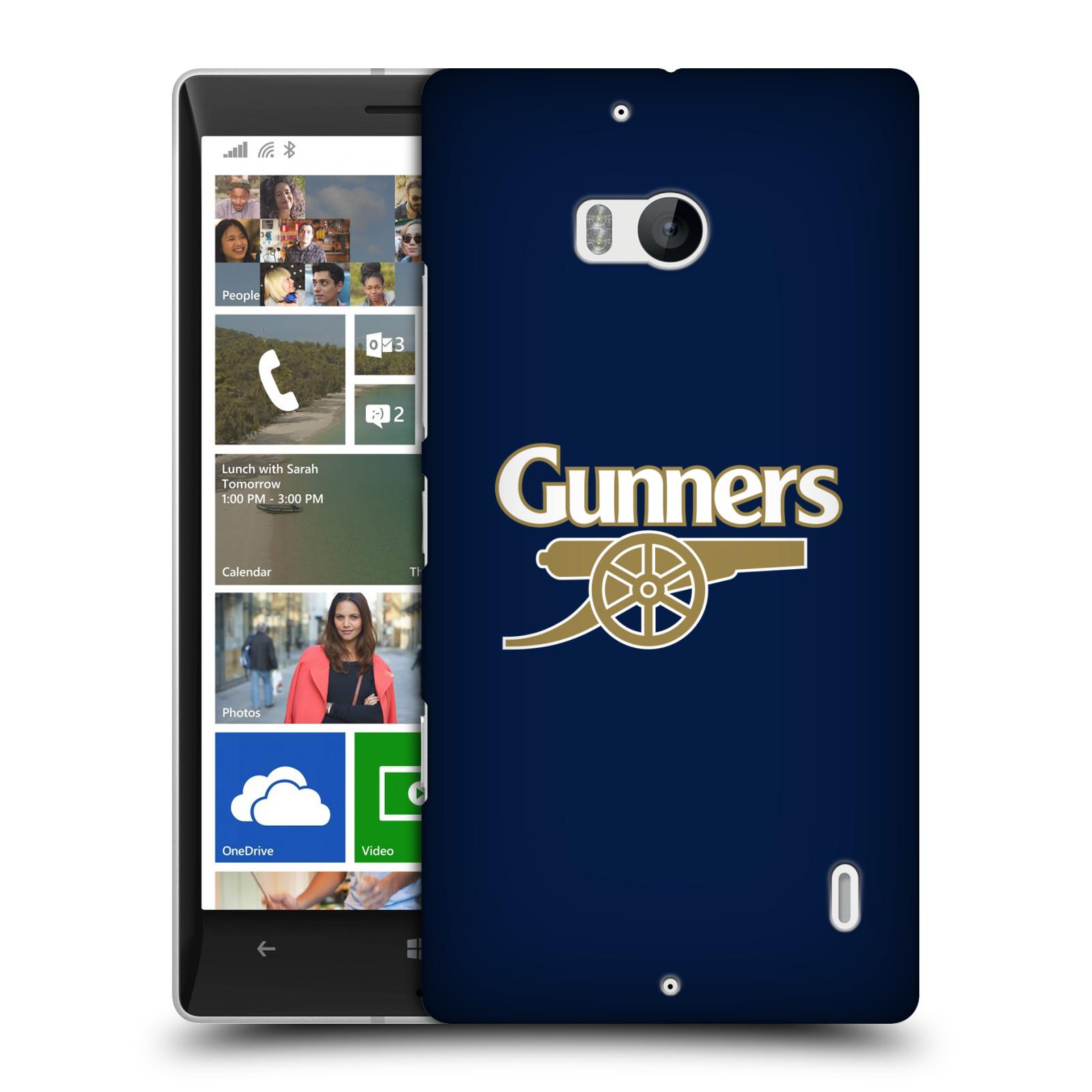 Plastové pouzdro na mobil Nokia Lumia 930 - Head Case - Arsenal FC - Gunners