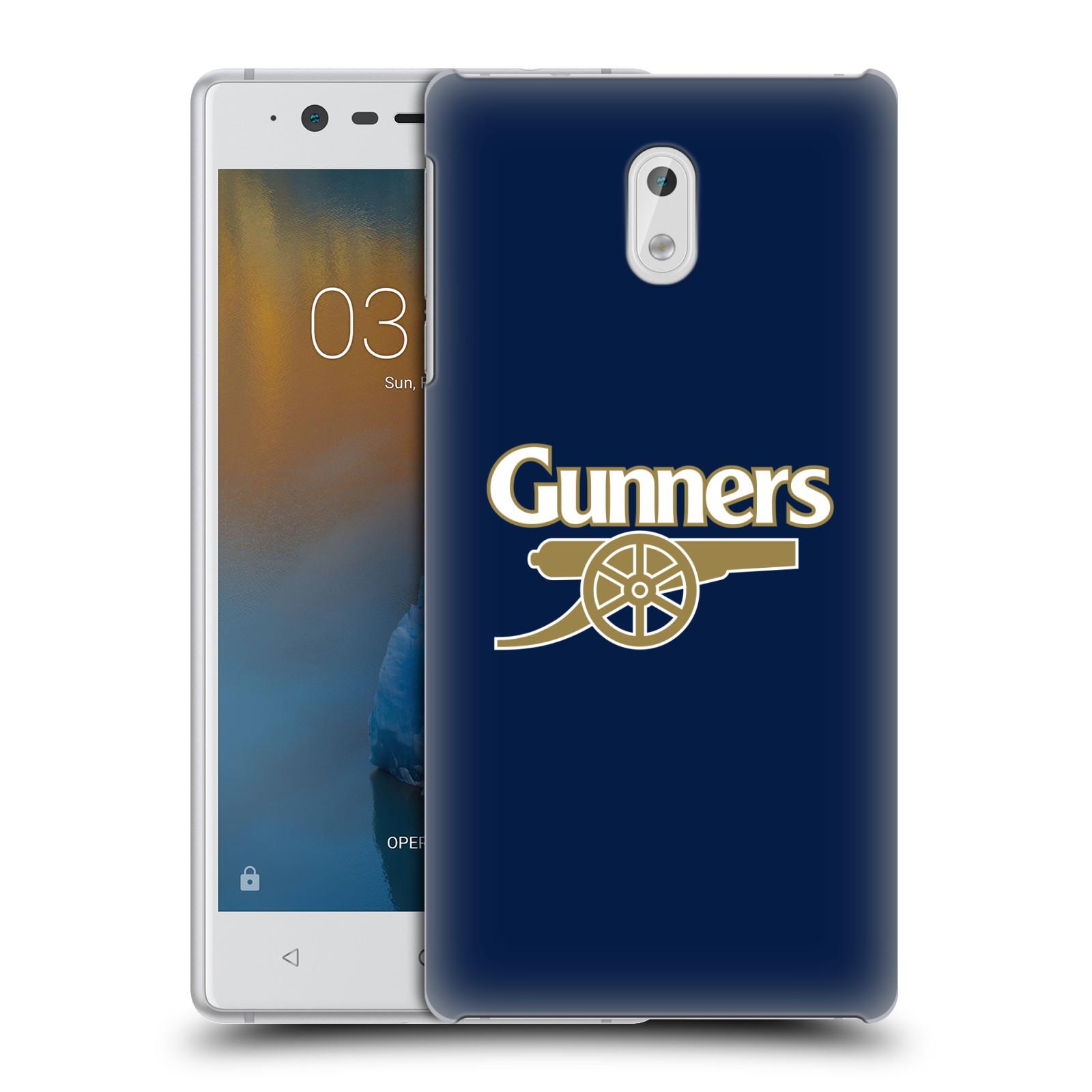 Plastové pouzdro na mobil Nokia 3 Head Case - Arsenal FC - Gunners