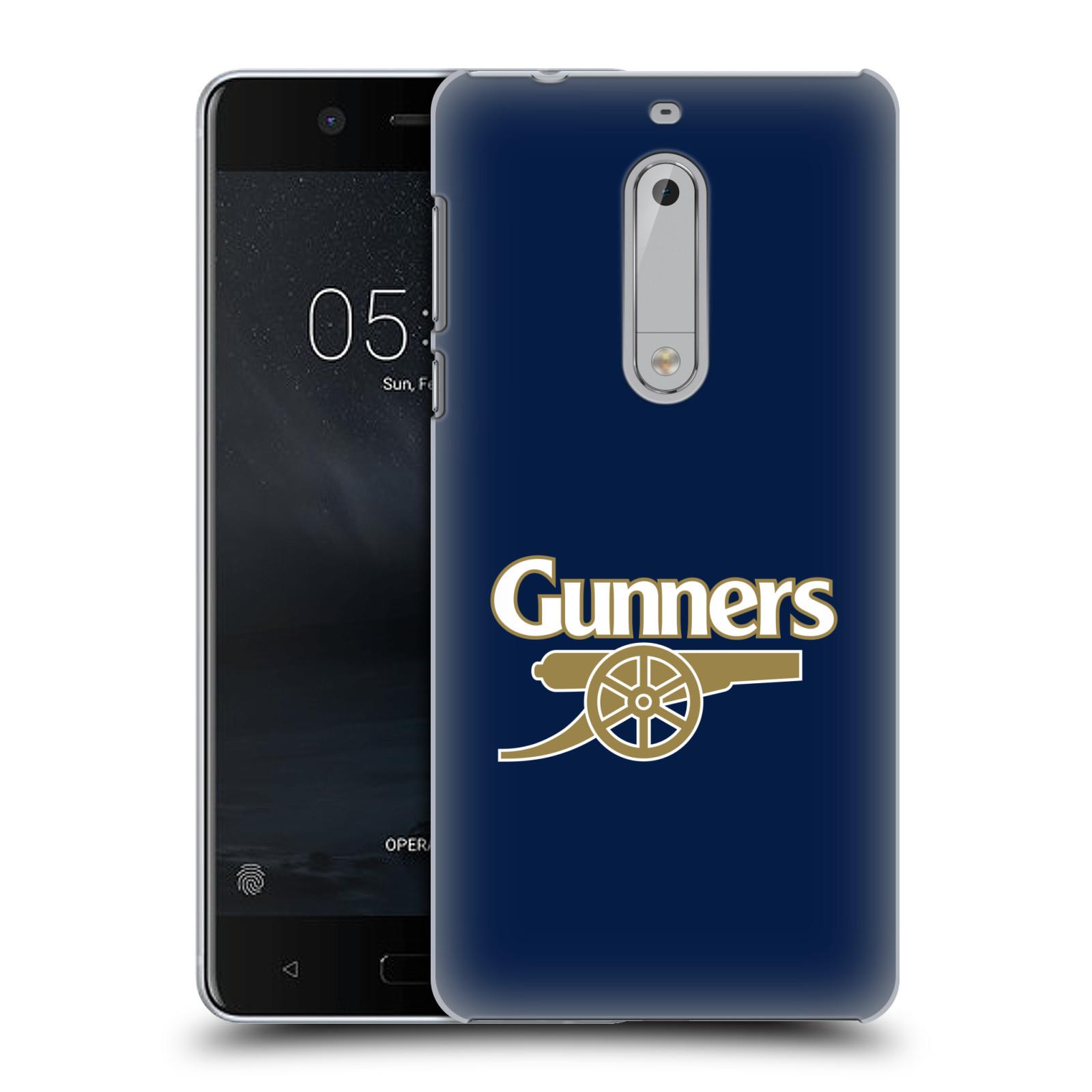 Plastové pouzdro na mobil Nokia 5 Head Case - Arsenal FC - Gunners