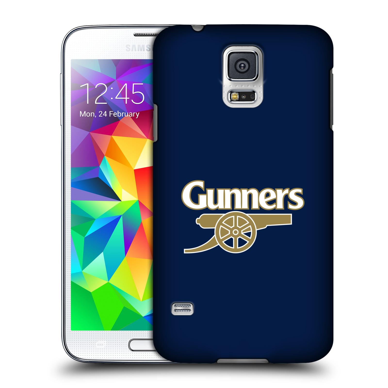 Plastové pouzdro na mobil Samsung Galaxy S5 - Head Case - Arsenal FC - Gunners