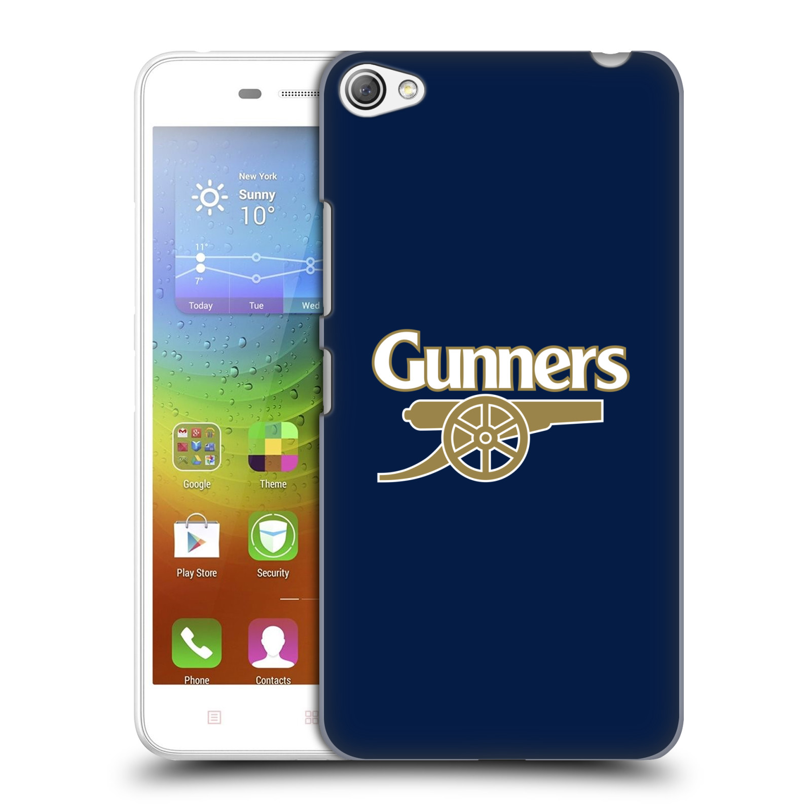 Plastové pouzdro na mobil Lenovo S60 - Head Case - Arsenal FC - Gunners
