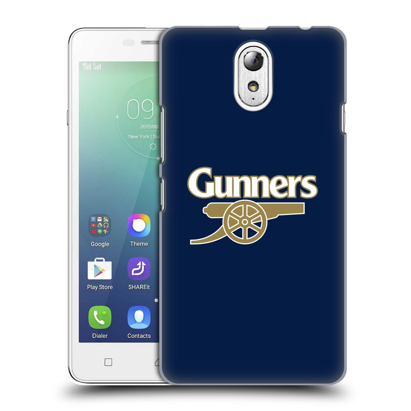 Plastové pouzdro na mobil Lenovo Vibe P1m - Head Case - Arsenal FC - Gunners