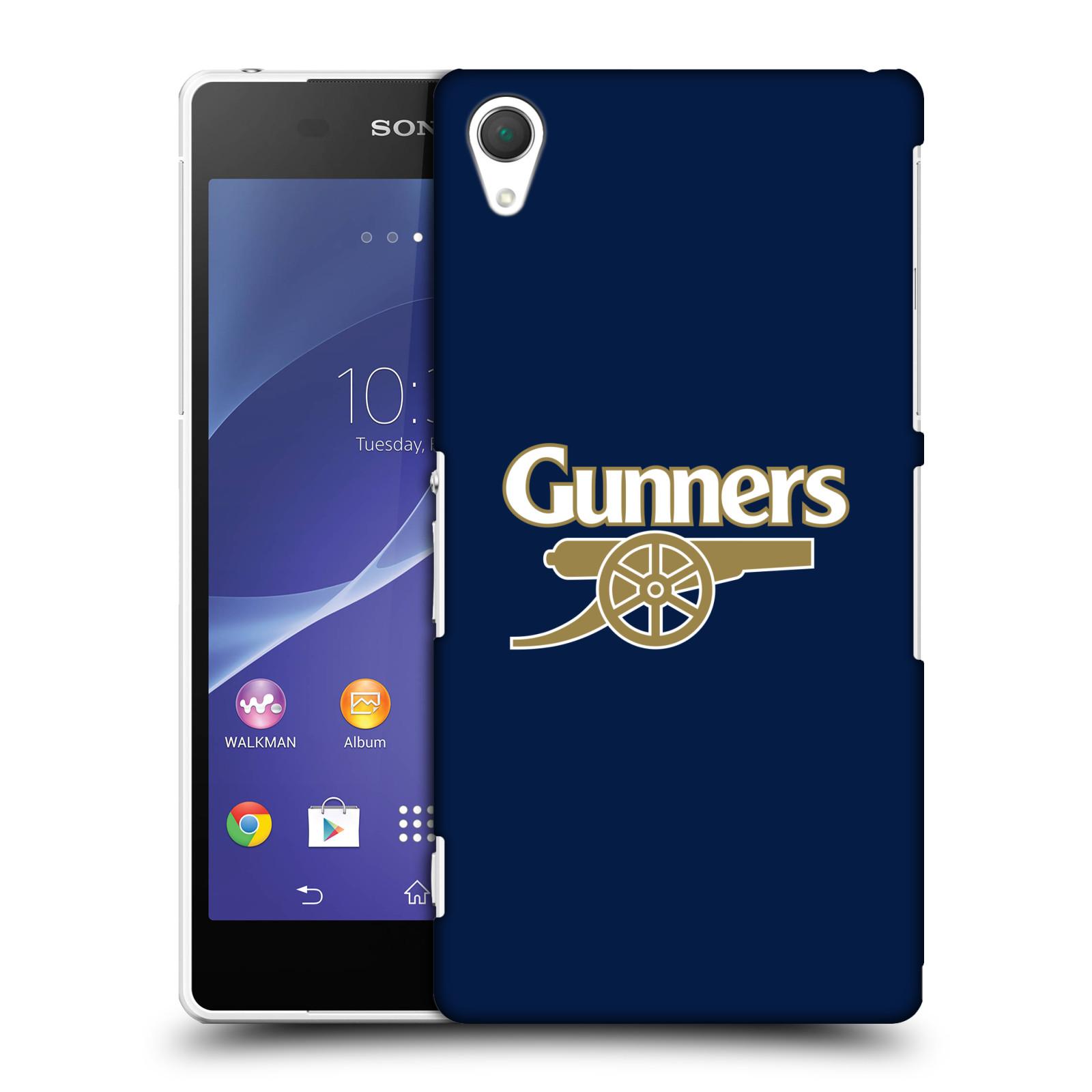 Plastové pouzdro na mobil Sony Xperia Z2 D6503 - Head Case - Arsenal FC - Gunners