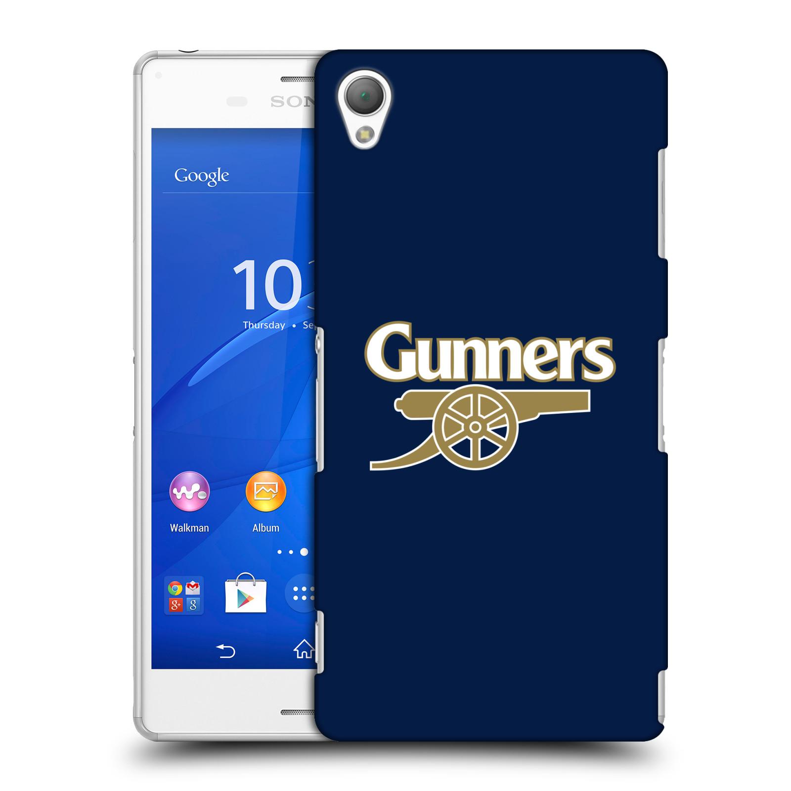 Plastové pouzdro na mobil Sony Xperia Z3 D6603 - Head Case - Arsenal FC - Gunners