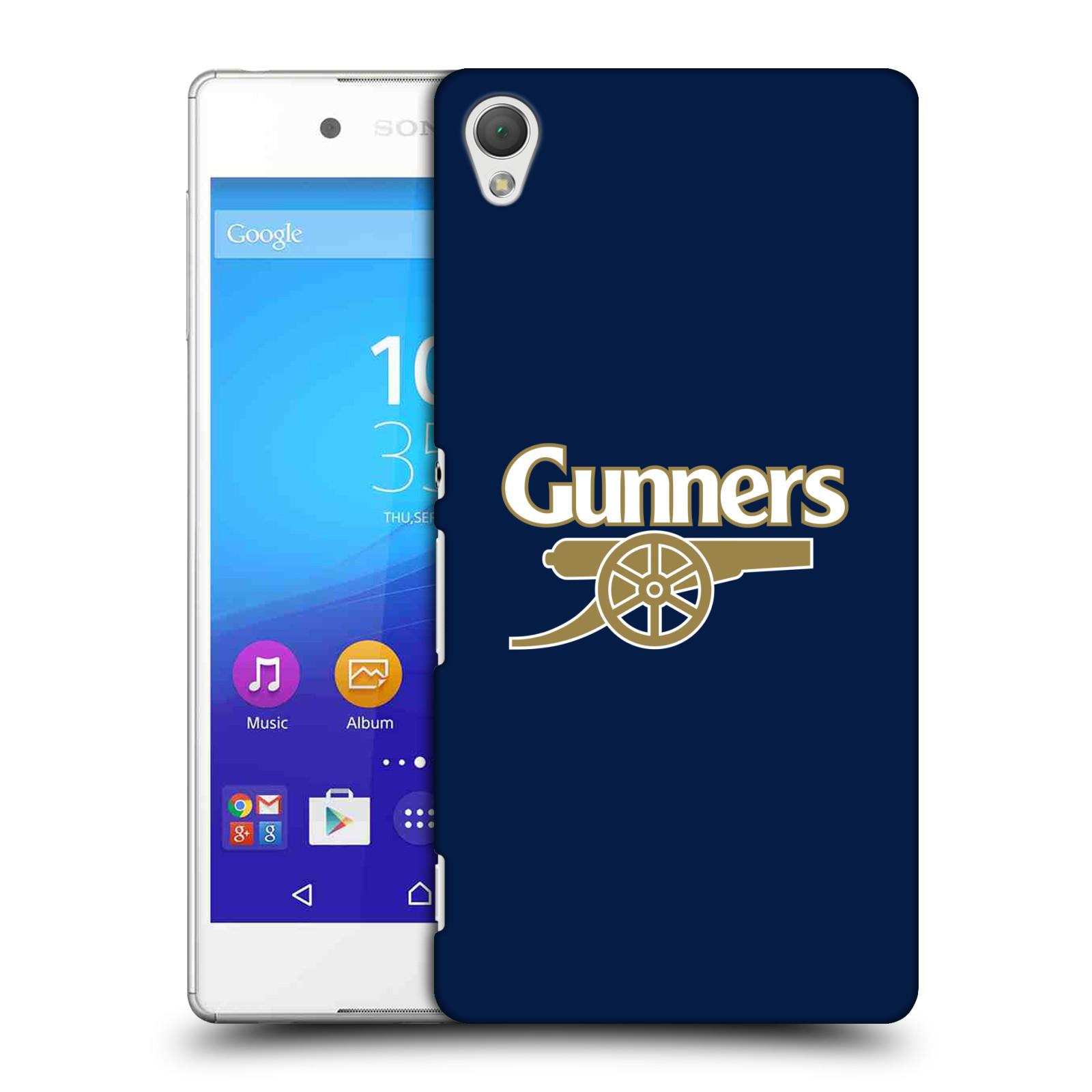 Plastové pouzdro na mobil Sony Xperia Z3+ (Plus) - Head Case - Arsenal FC - Gunners (Plastový kryt či obal na mobilní telefon s motivem klubu Arsenal FC - Gunners pro Sony Xperia Z3+ a Sony Xperia Z4 )