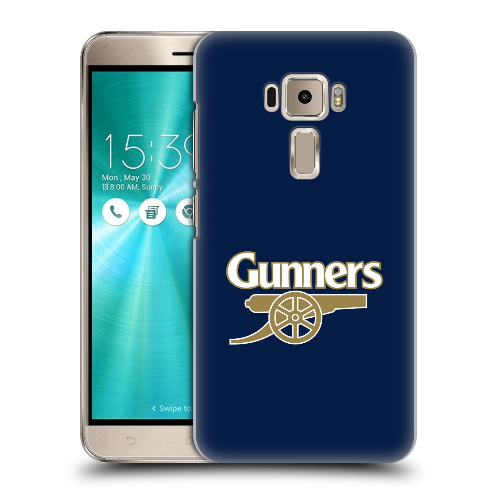 Plastové pouzdro na mobil Asus ZenFone 3 ZE520KL - Head Case - Arsenal FC - Gunners