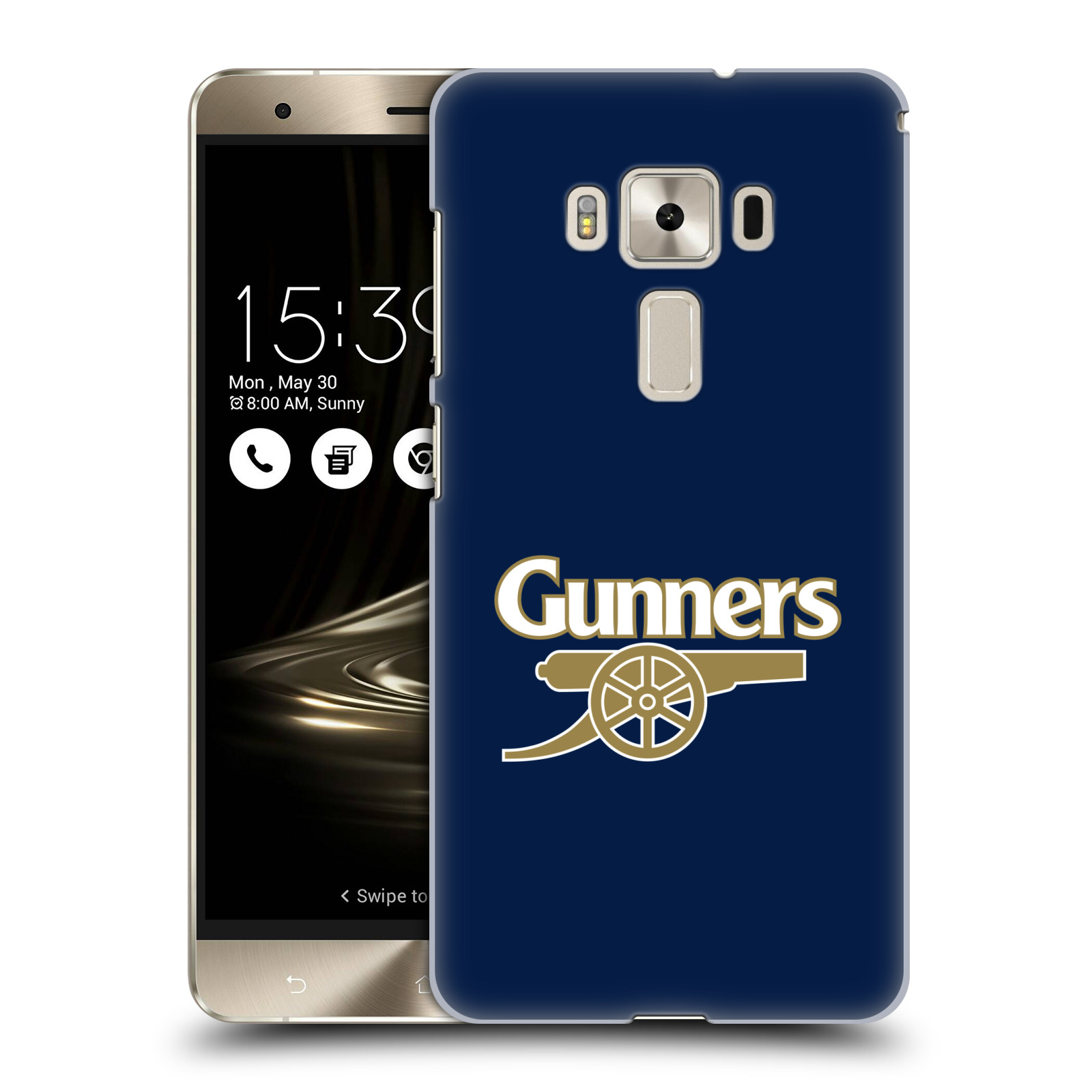 Plastové pouzdro na mobil Asus ZenFone 3 Deluxe ZS570KL - Head Case - Arsenal FC - Gunners