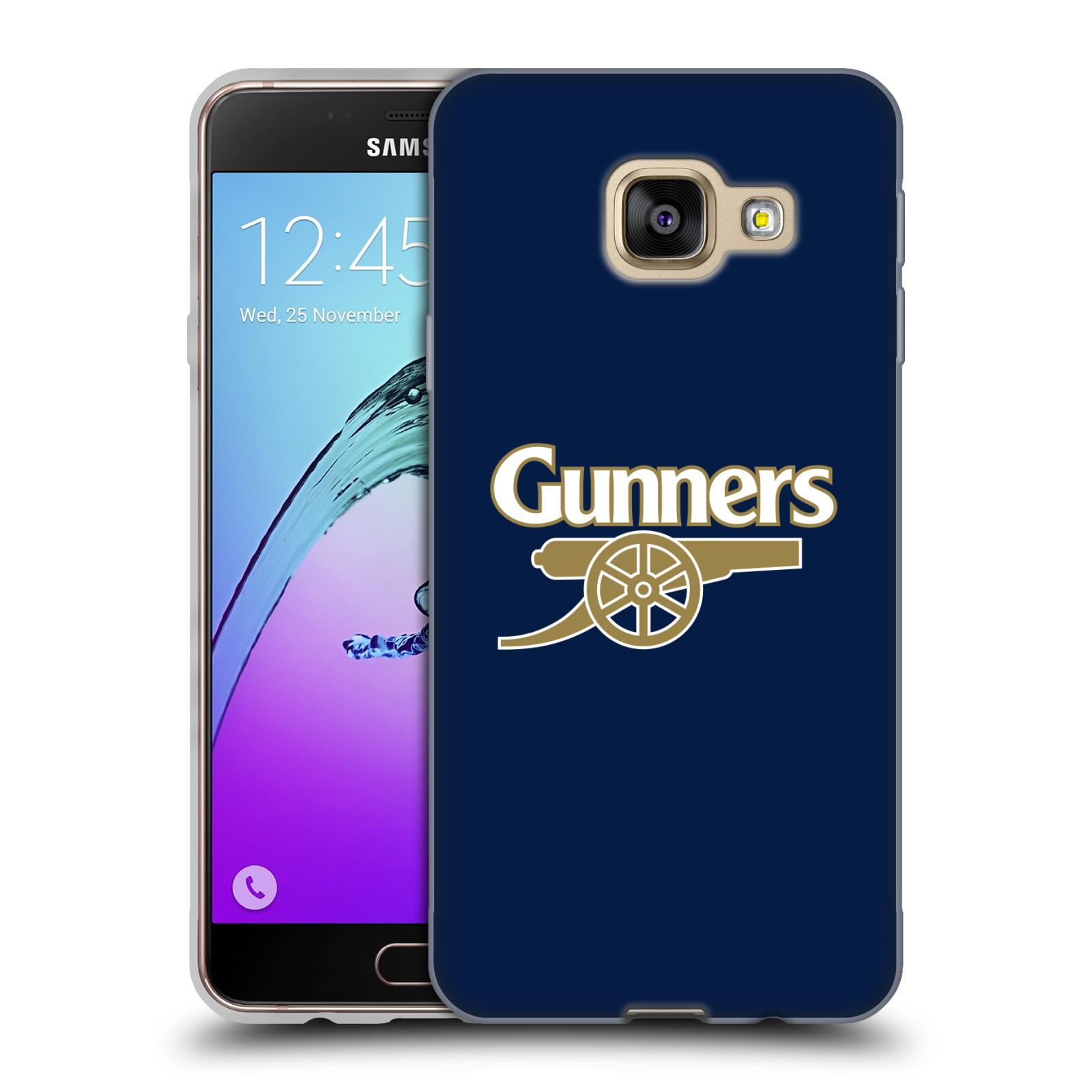 Silikonové pouzdro na mobil Samsung Galaxy A3 (2016) - Head Case - Arsenal FC - Gunners