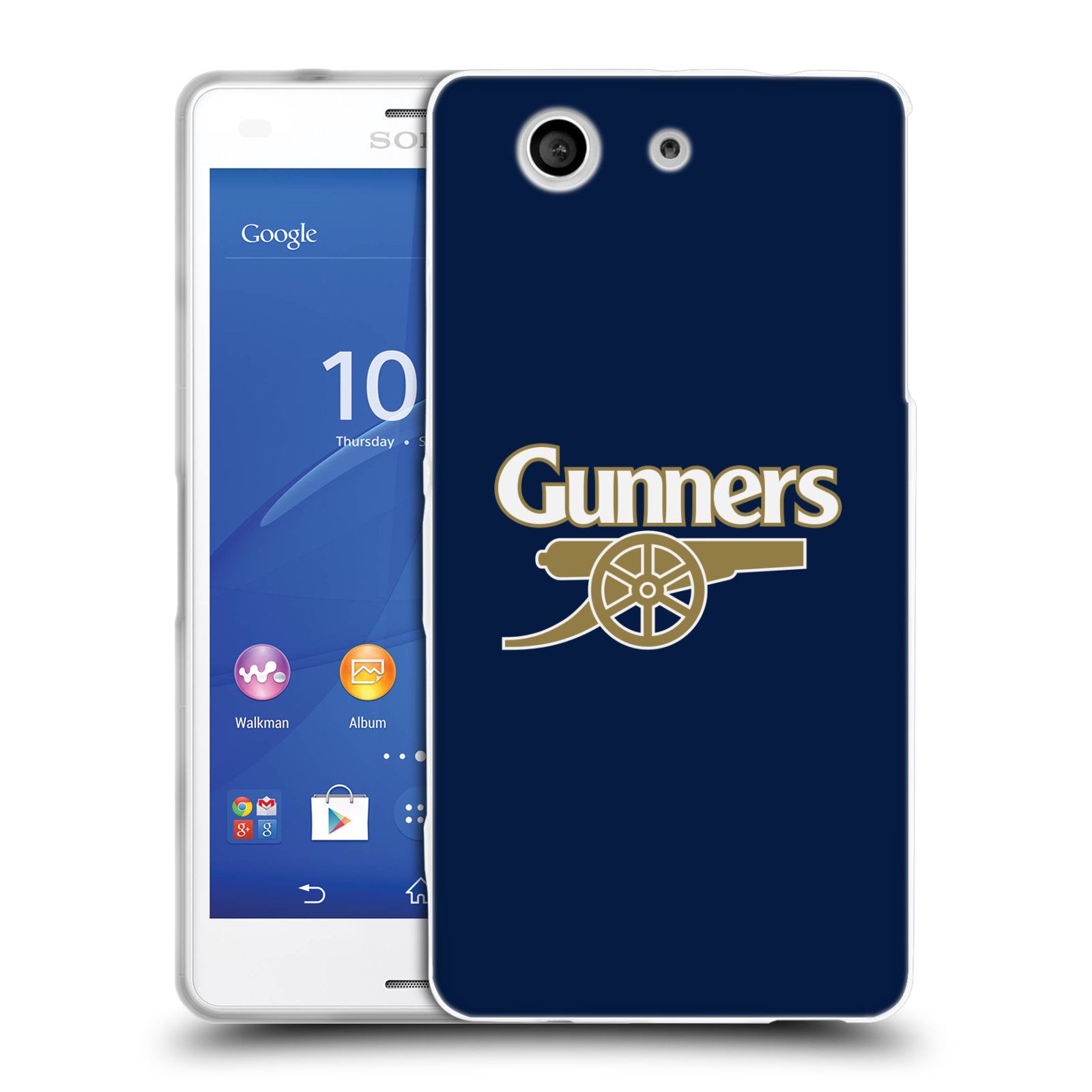 Silikonové pouzdro na mobil Sony Xperia Z3 Compact D5803 - Head Case - Arsenal FC - Gunners