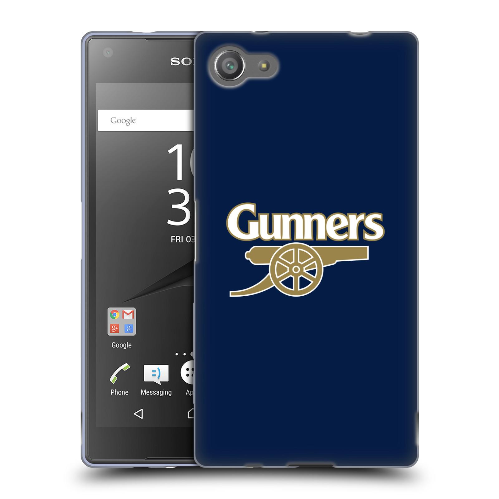 Silikonové pouzdro na mobil Sony Xperia Z5 Compact - Head Case - Arsenal FC - Gunners