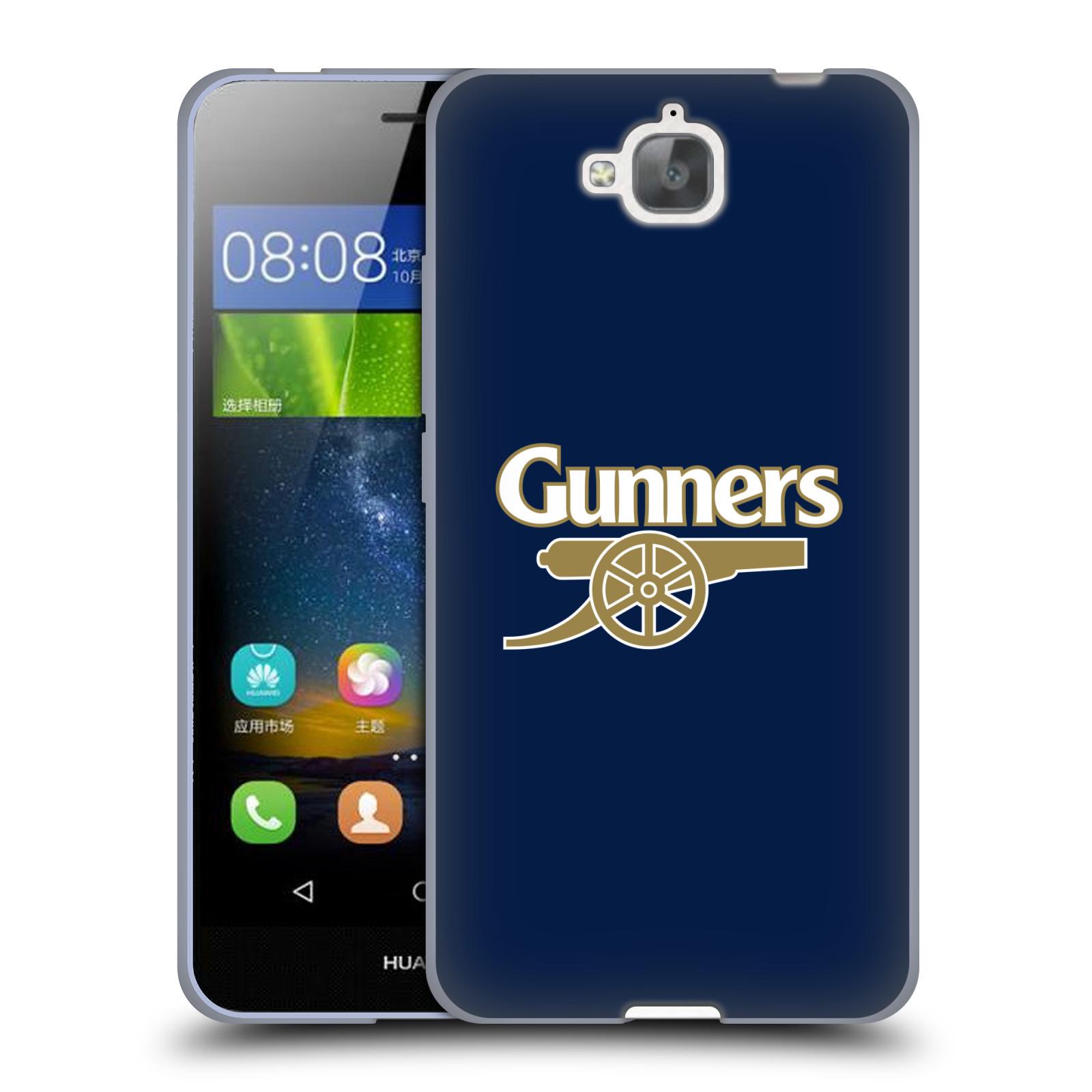 Silikonové pouzdro na mobil Huawei Y6 Pro Dual Sim - Head Case - Arsenal FC - Gunners