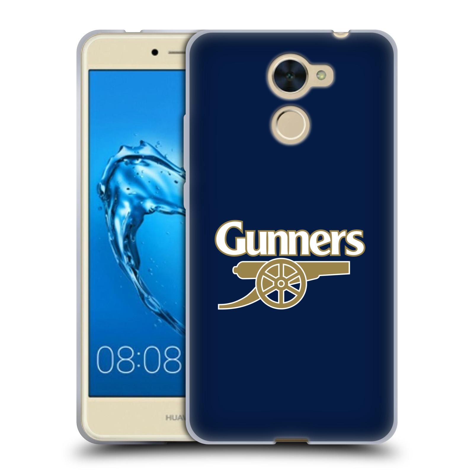 Silikonové pouzdro na mobil Huawei Y7 - Head Case - Arsenal FC - Gunners