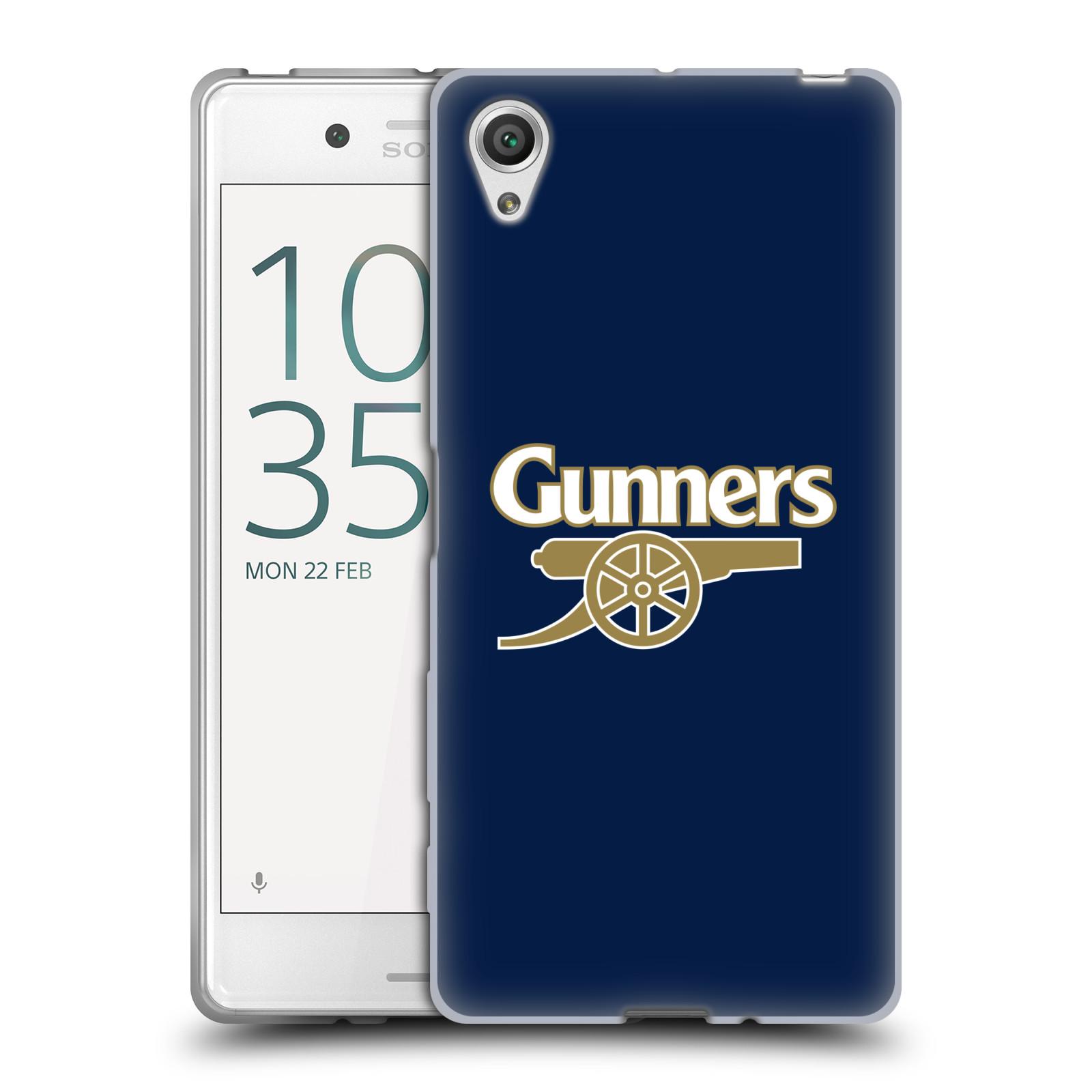 Silikonové pouzdro na mobil Sony Xperia X - Head Case - Arsenal FC - Gunners