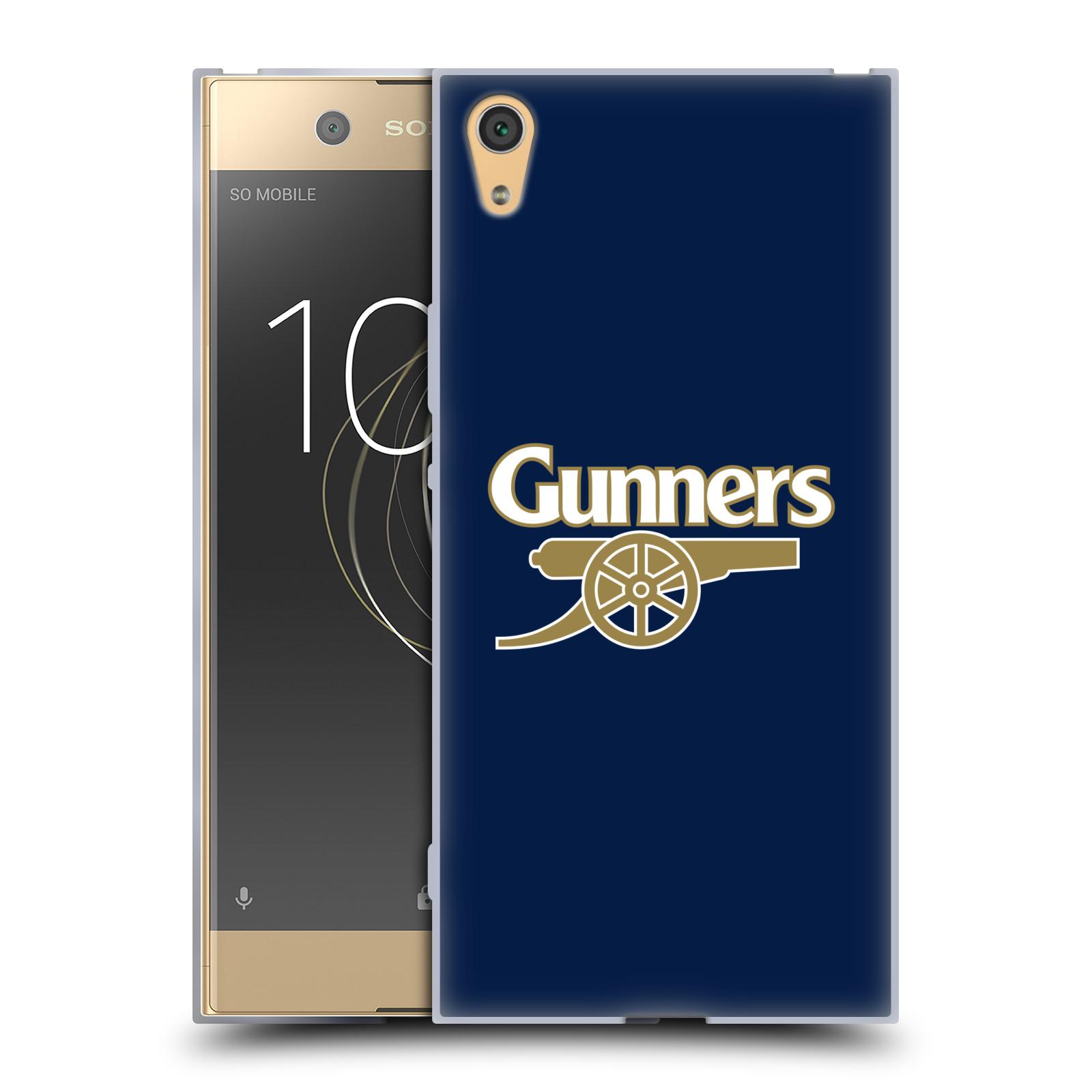 Silikonové pouzdro na mobil Sony Xperia XA1 Ultra - Head Case - Arsenal FC - Gunners