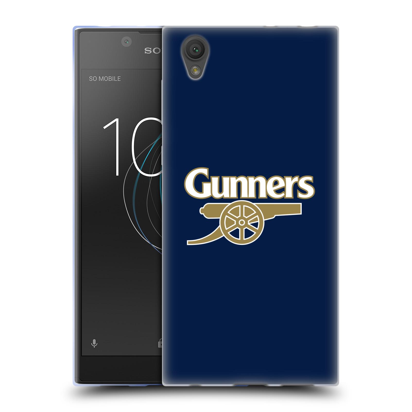 Silikonové pouzdro na mobil Sony Xperia L1 - Head Case - Arsenal FC - Gunners