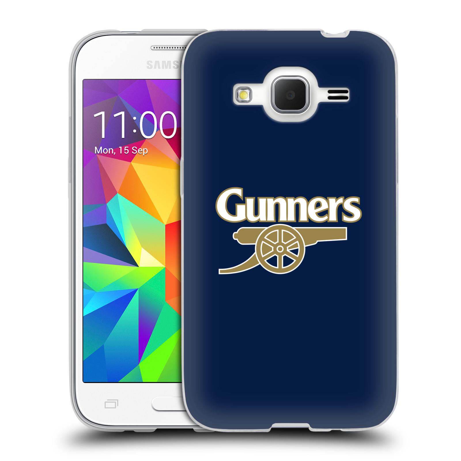 Silikonové pouzdro na mobil Samsung Galaxy Core Prime LTE - Head Case - Arsenal FC - Gunners