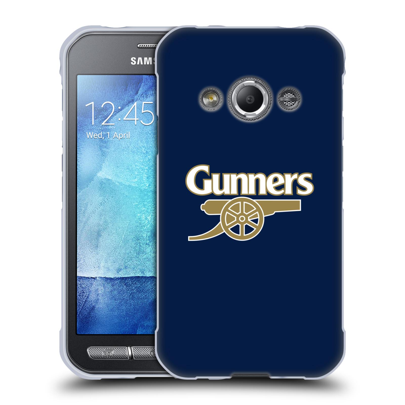 Silikonové pouzdro na mobil Samsung Galaxy Xcover 3 - Head Case - Arsenal FC - Gunners
