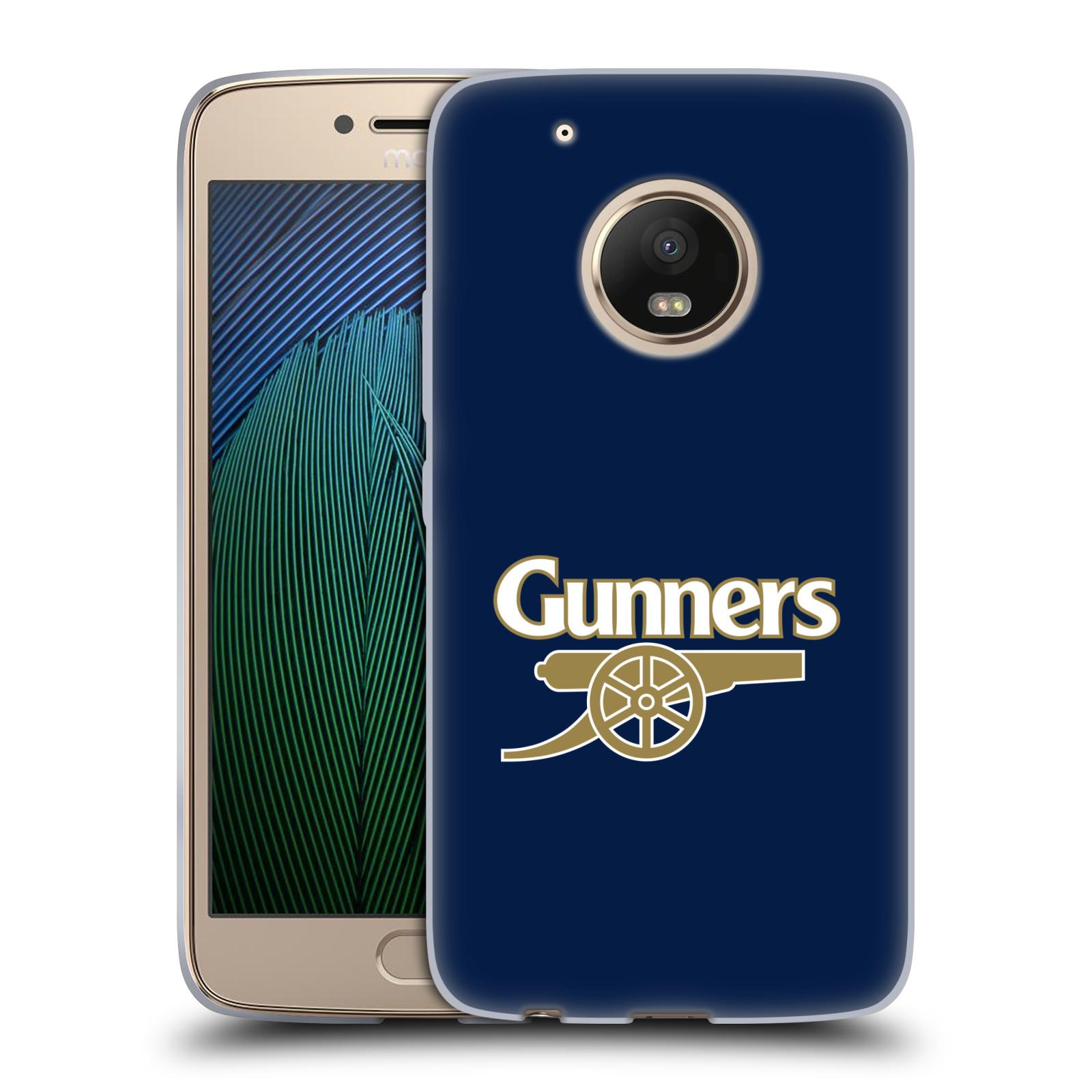 Silikonové pouzdro na mobil Lenovo Moto G5 Plus - Head Case - Arsenal FC - Gunners