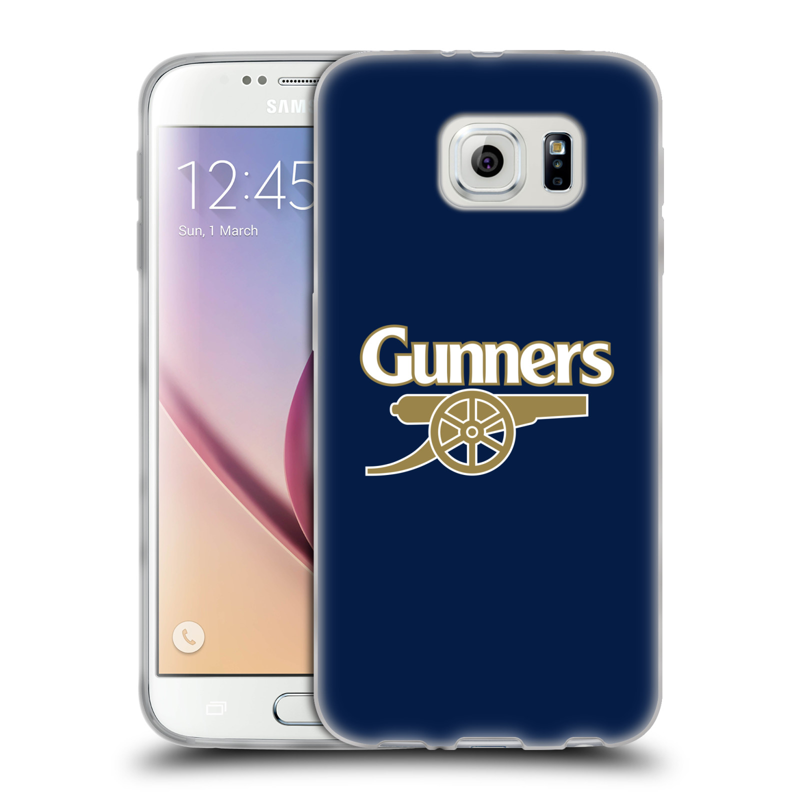 Silikonové pouzdro na mobil Samsung Galaxy S6 - Head Case - Arsenal FC - Gunners
