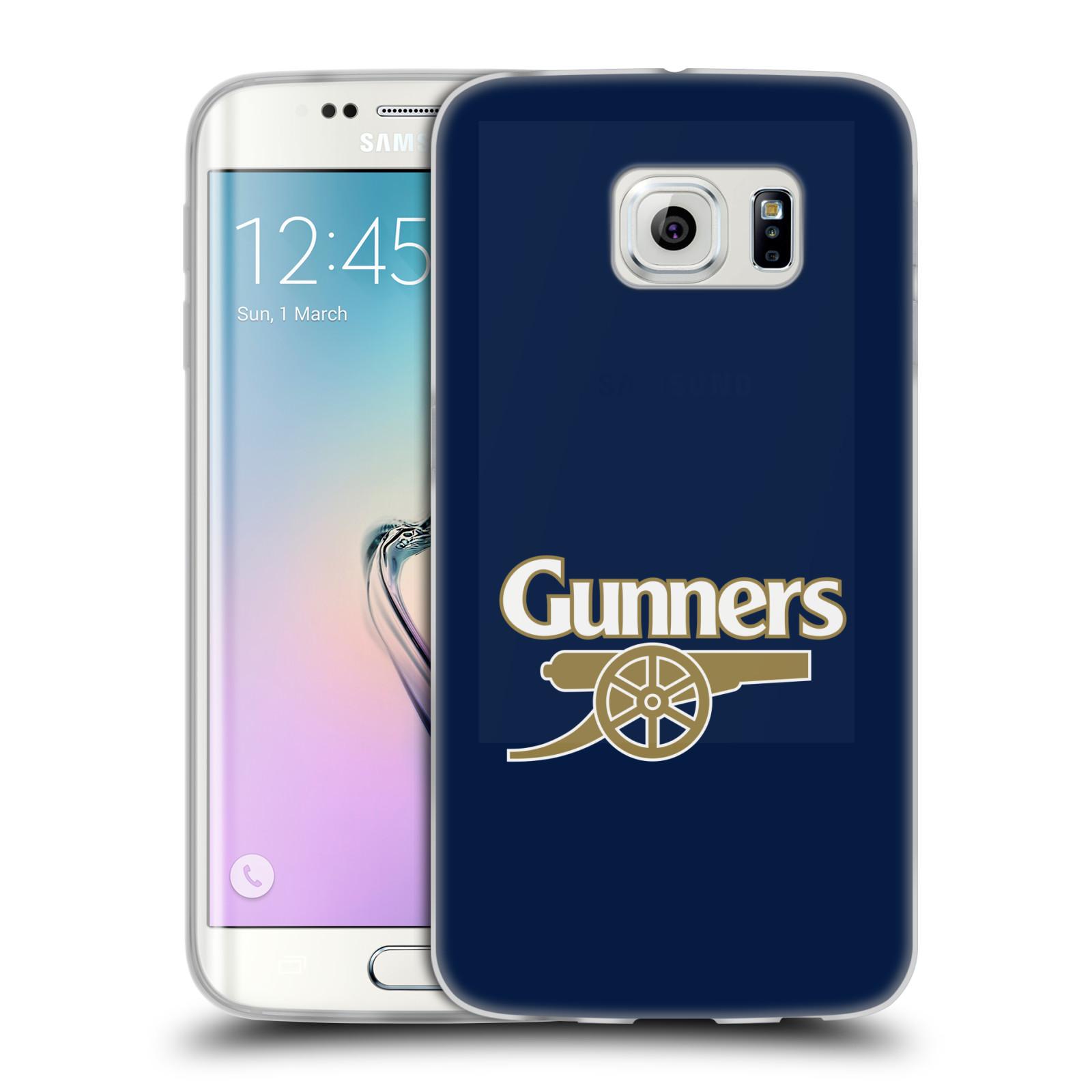 Silikonové pouzdro na mobil Samsung Galaxy S6 Edge - Head Case - Arsenal FC - Gunners