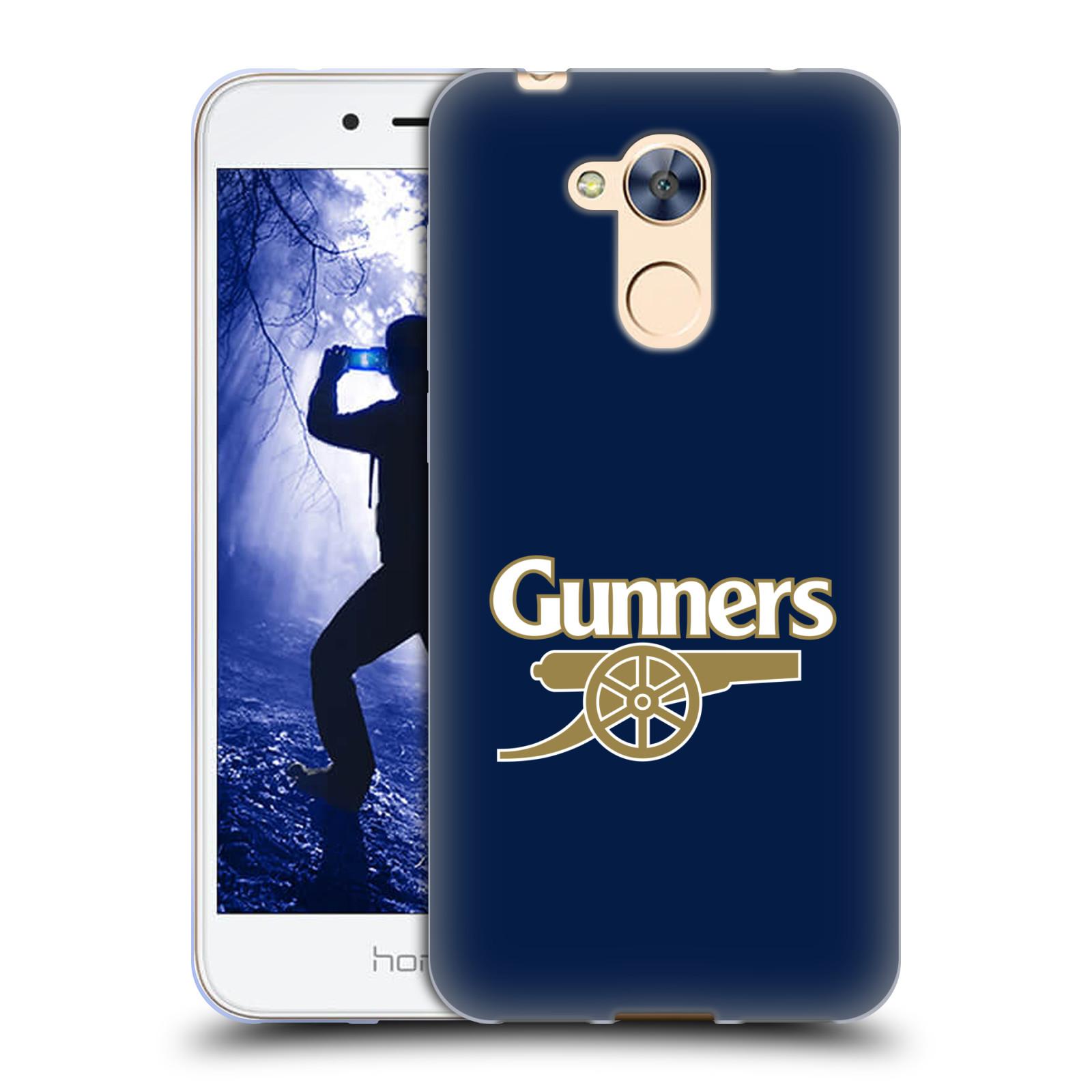 Silikonové pouzdro na mobil Honor 6A - Head Case - Arsenal FC - Gunners