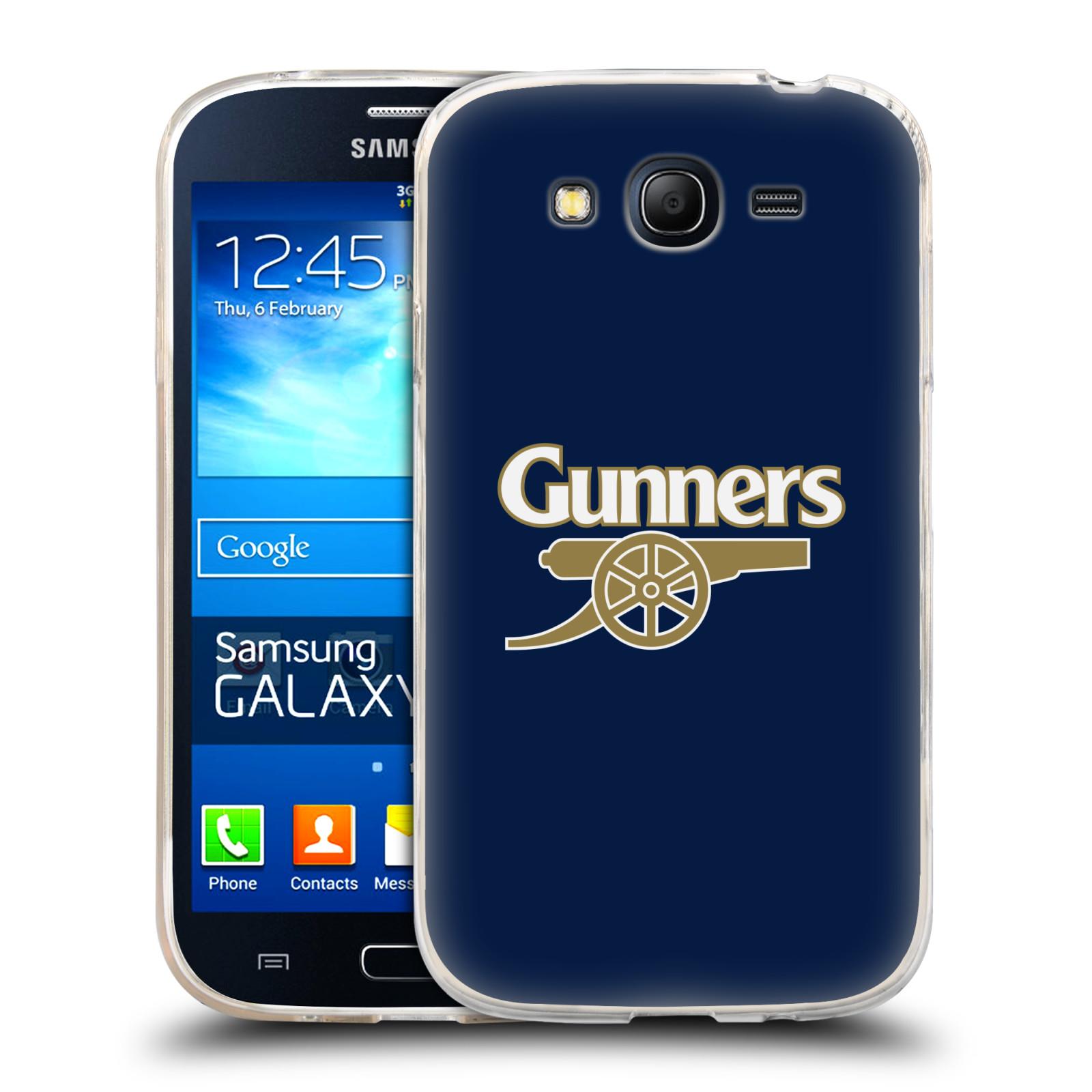 Silikonové pouzdro na mobil Samsung Galaxy Grand Neo - Head Case - Arsenal FC - Gunners