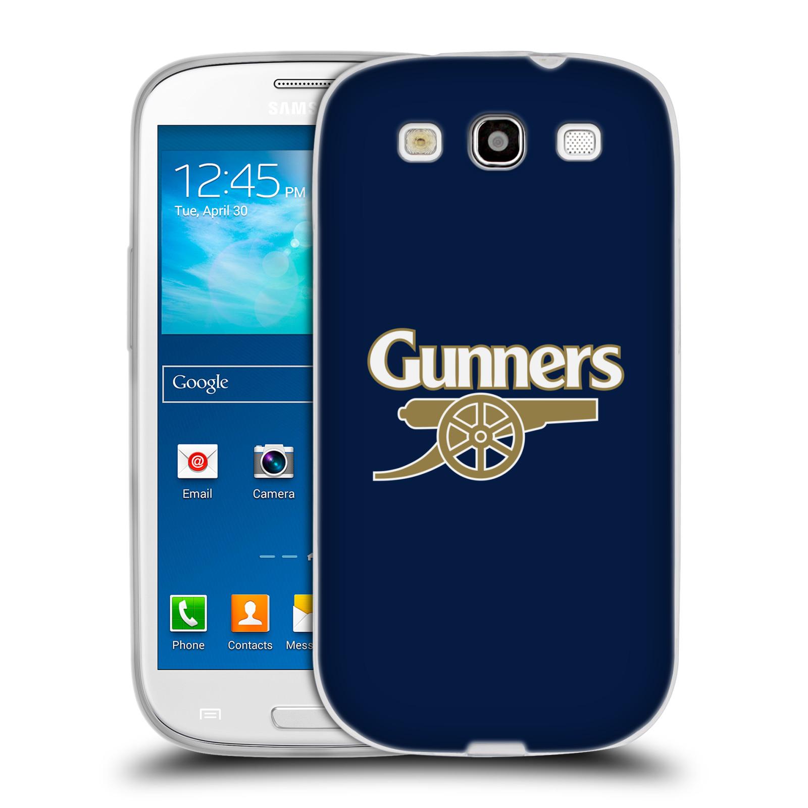 Silikonové pouzdro na mobil Samsung Galaxy S3 Neo - Head Case - Arsenal FC - Gunners