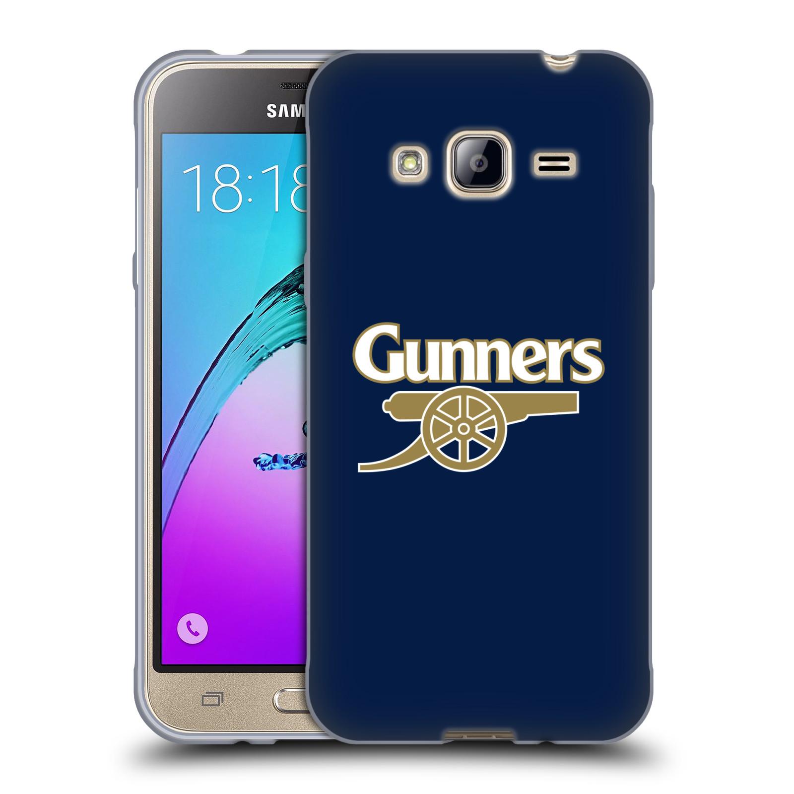 Silikonové pouzdro na mobil Samsung Galaxy J3 (2016) - Head Case - Arsenal FC - Gunners