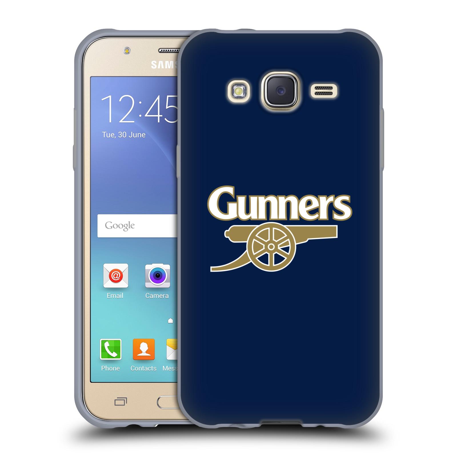 Silikonové pouzdro na mobil Samsung Galaxy J5 - Head Case - Arsenal FC - Gunners