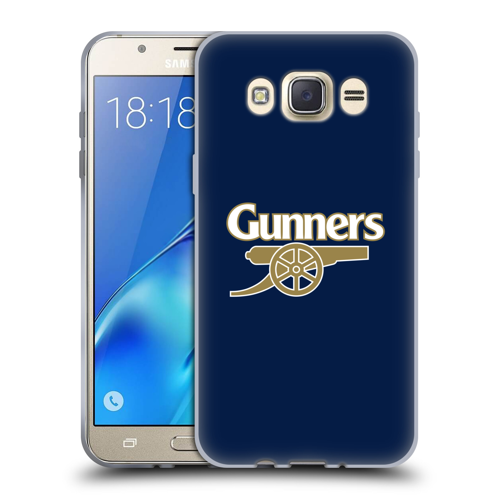 Silikonové pouzdro na mobil Samsung Galaxy J7 (2016) - Head Case - Arsenal FC - Gunners