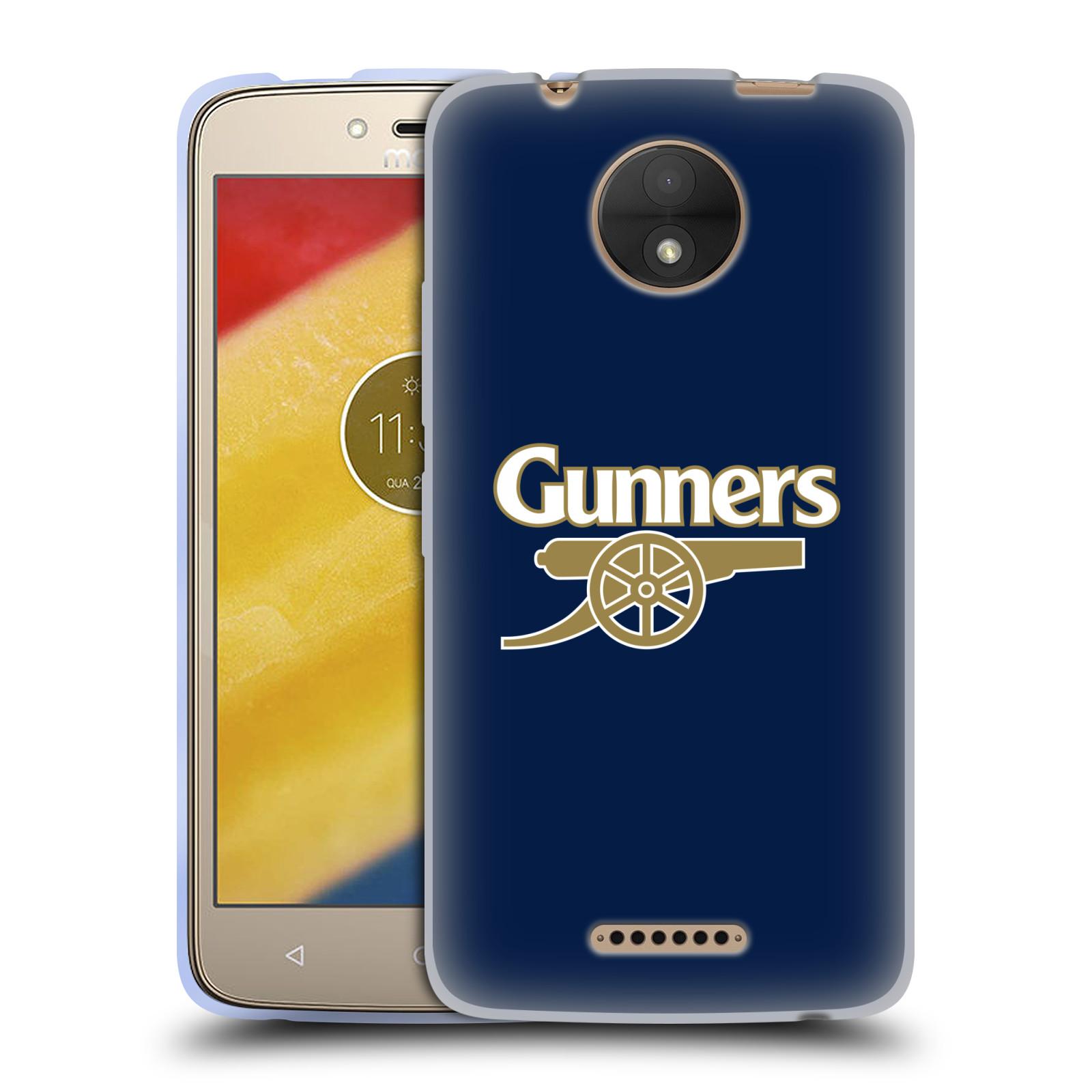 Silikonové pouzdro na mobil Lenovo Moto C - Head Case - Arsenal FC - Gunners