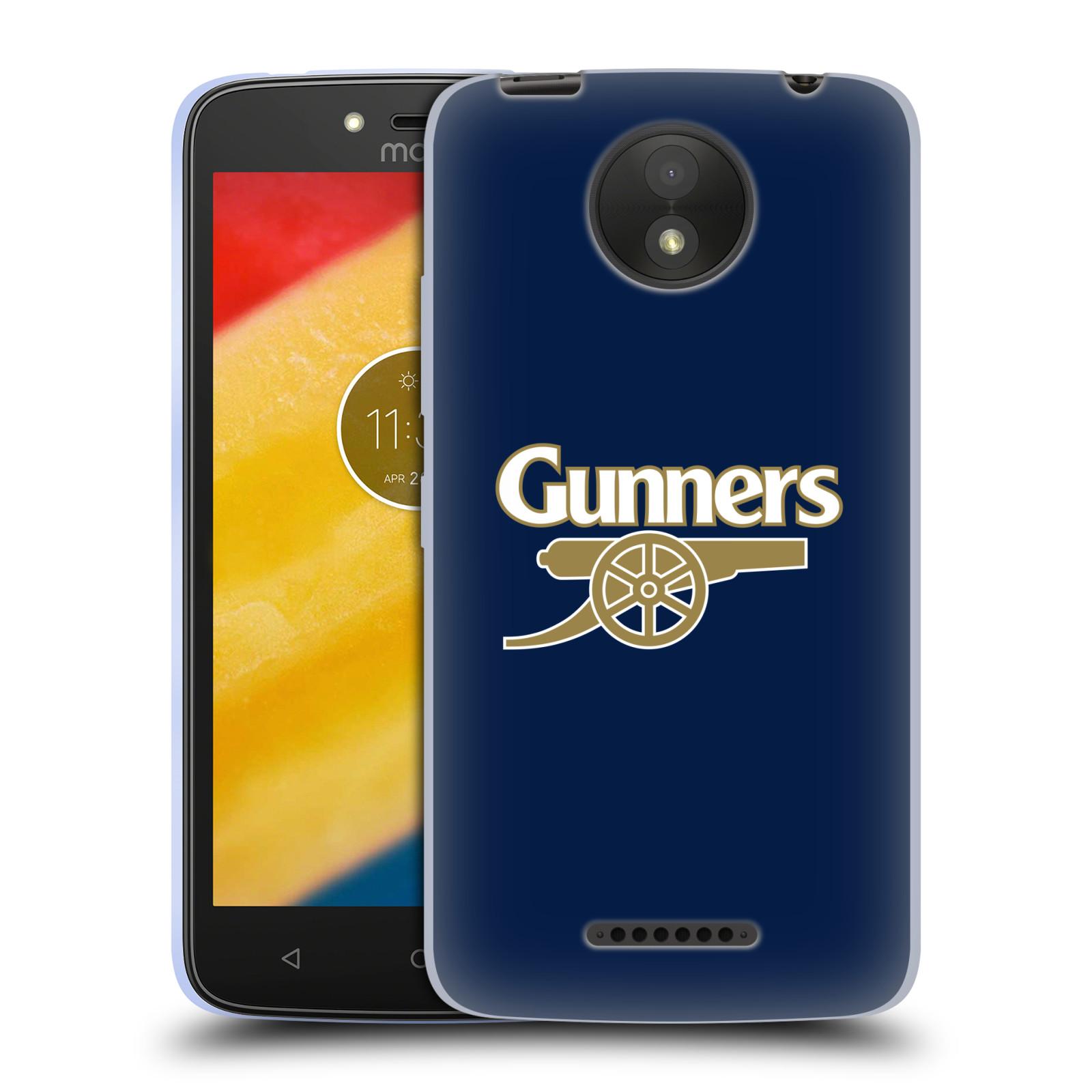 Silikonové pouzdro na mobil Lenovo Moto C Plus - Head Case - Arsenal FC - Gunners