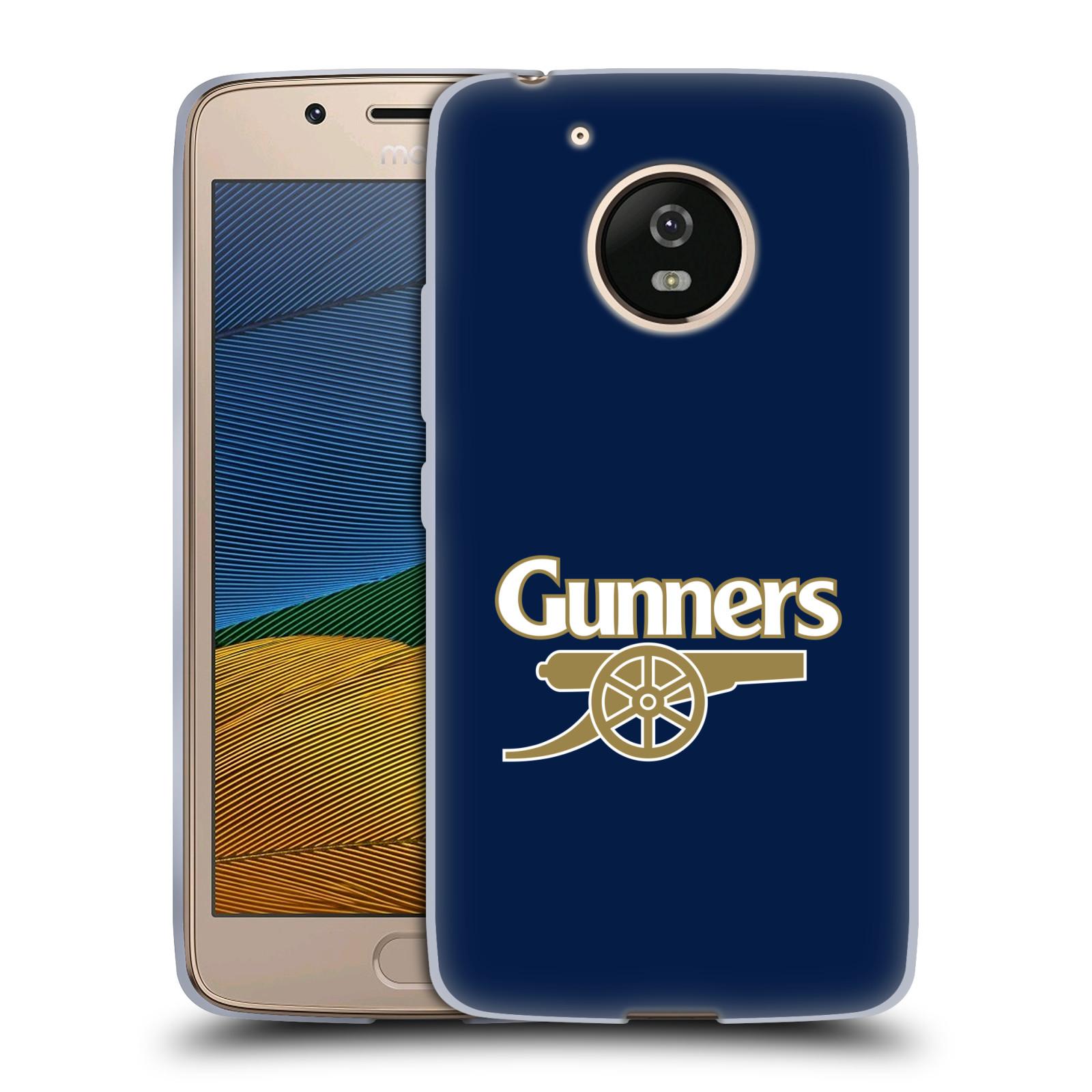 Silikonové pouzdro na mobil Lenovo Moto G5 - Head Case - Arsenal FC - Gunners
