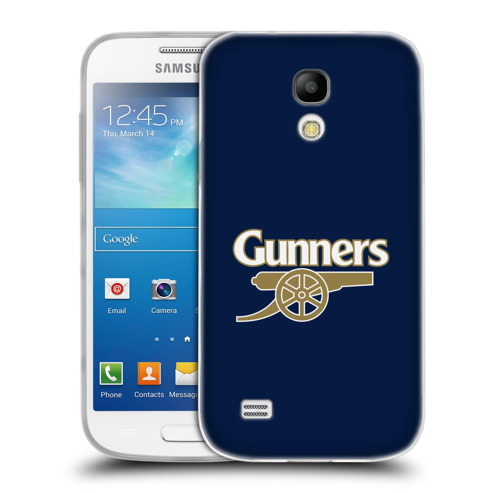 Silikonové pouzdro na mobil Samsung Galaxy S4 Mini - Head Case - Arsenal FC - Gunners