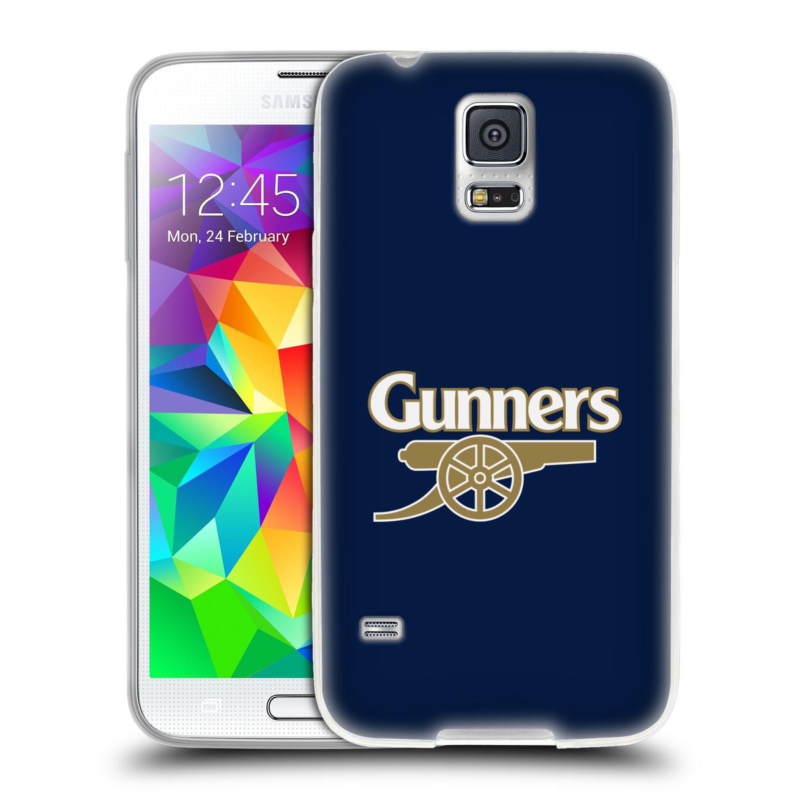 Silikonové pouzdro na mobil Samsung Galaxy S5 Neo - Head Case - Arsenal FC - Gunners