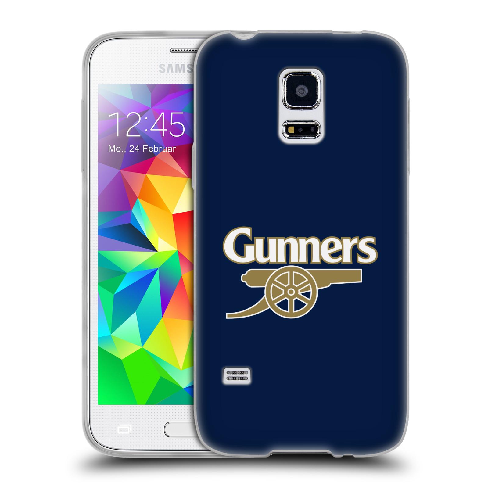 Silikonové pouzdro na mobil Samsung Galaxy S5 Mini - Head Case - Arsenal FC - Gunners