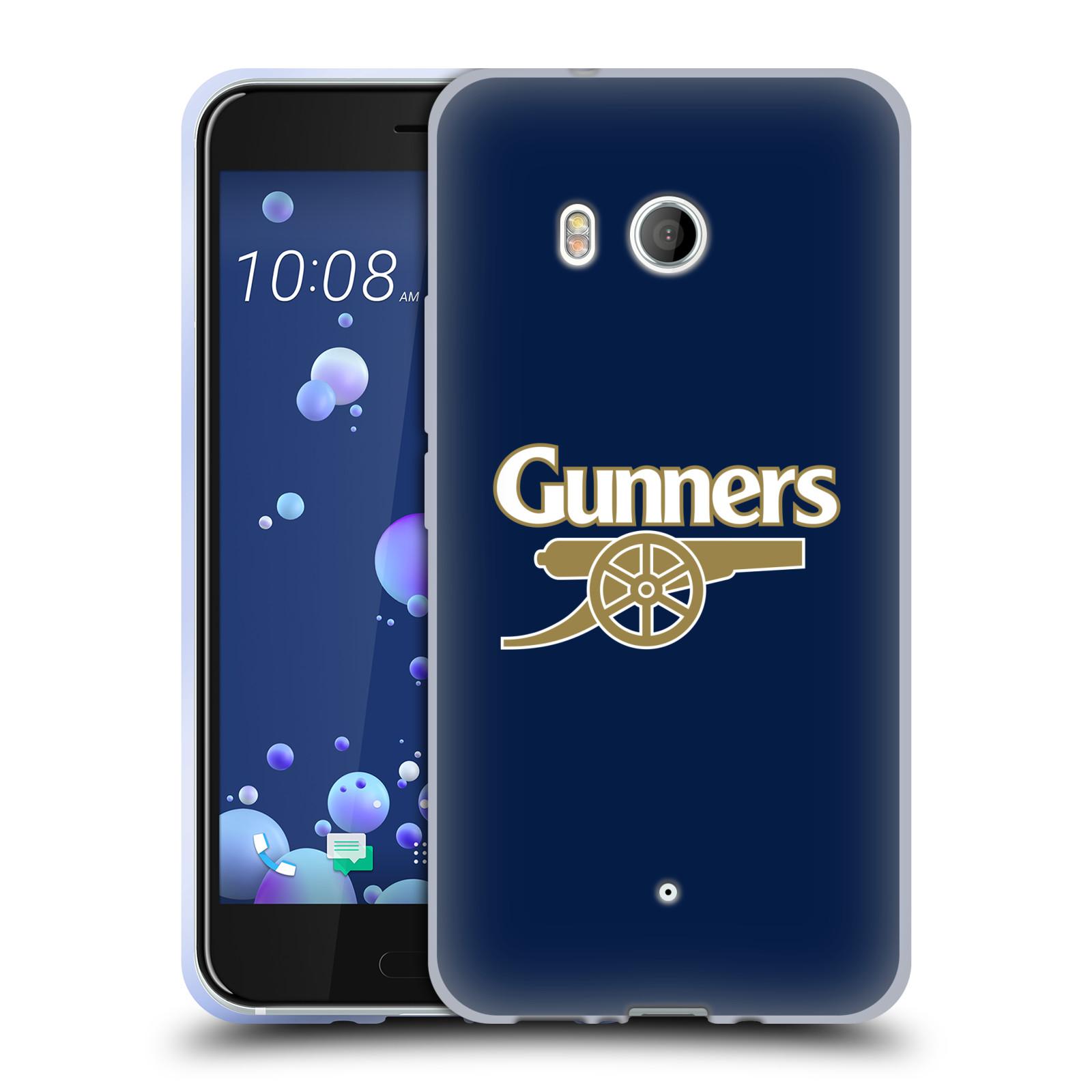 Silikonové pouzdro na mobil HTC U11 - Head Case - Arsenal FC - Gunners