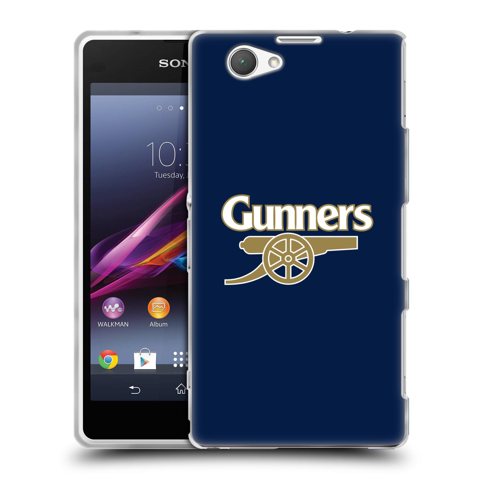 Silikonové pouzdro na mobil Sony Xperia Z1 Compact D5503 - Head Case - Arsenal FC - Gunners