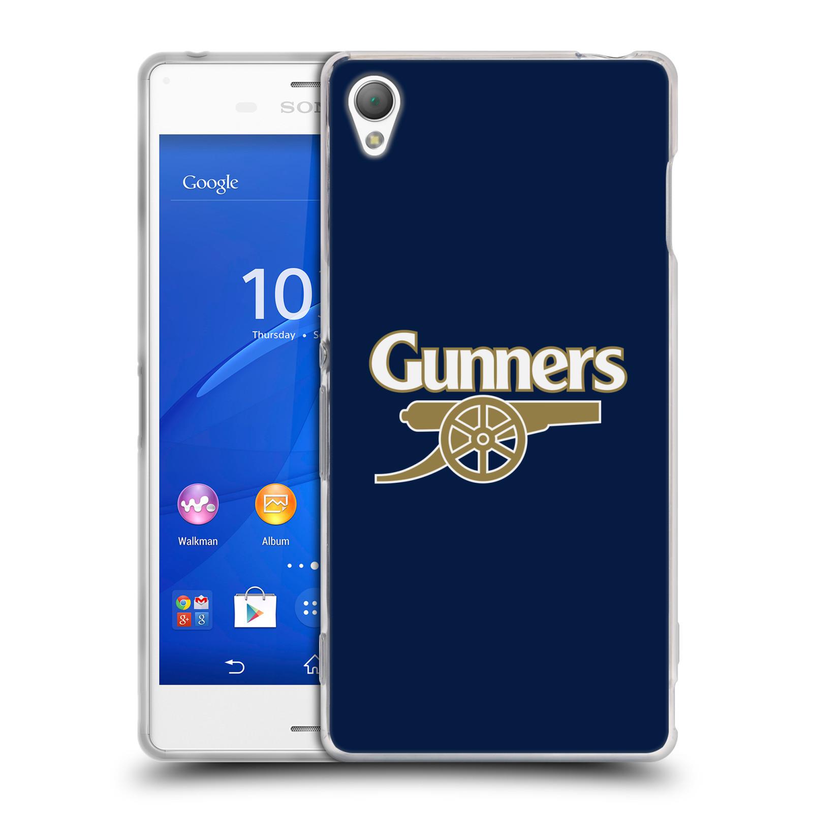 Silikonové pouzdro na mobil Sony Xperia Z3 D6603 - Head Case - Arsenal FC - Gunners