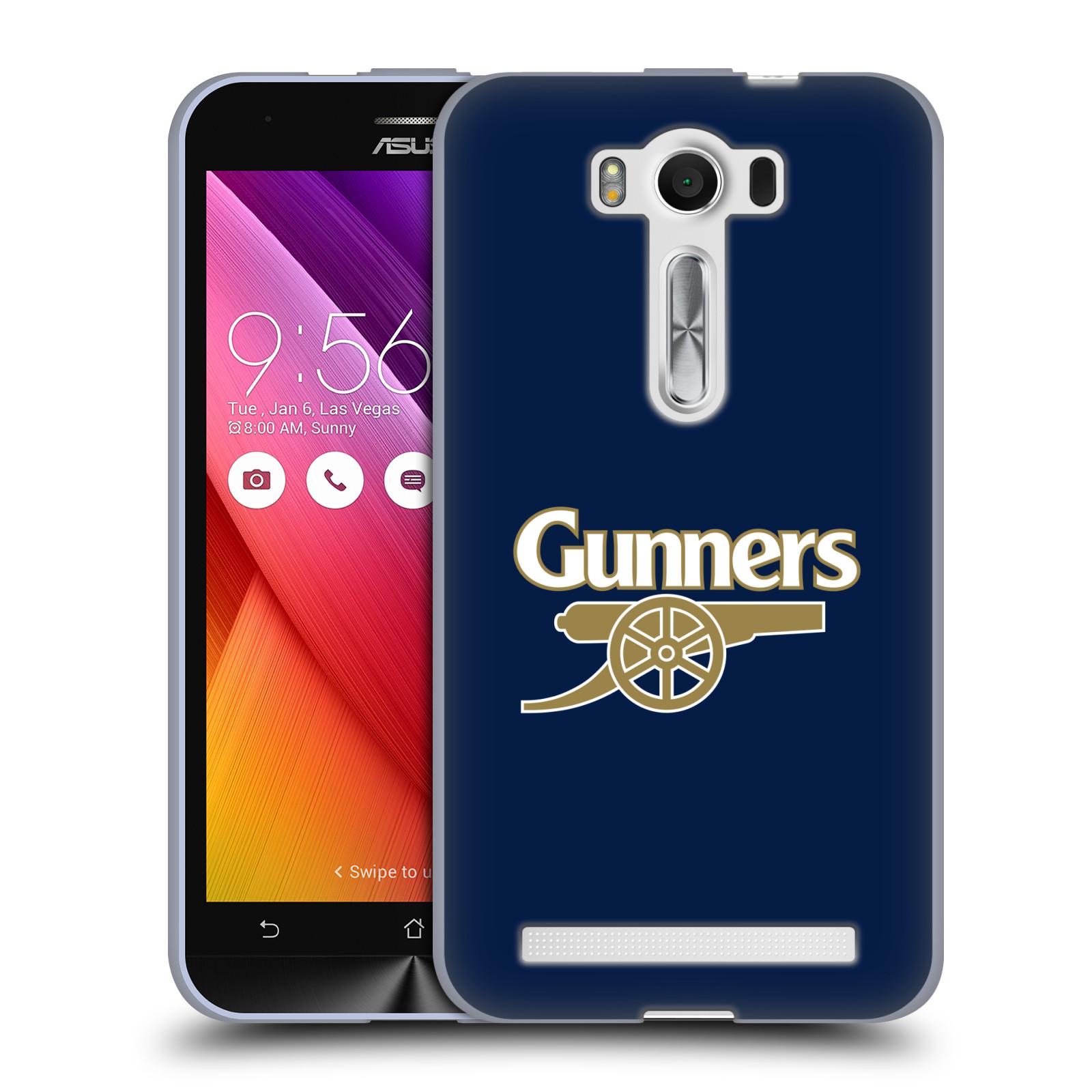 Silikonové pouzdro na mobil Asus ZenFone 2 Laser ZE500KL - Head Case - Arsenal FC - Gunners