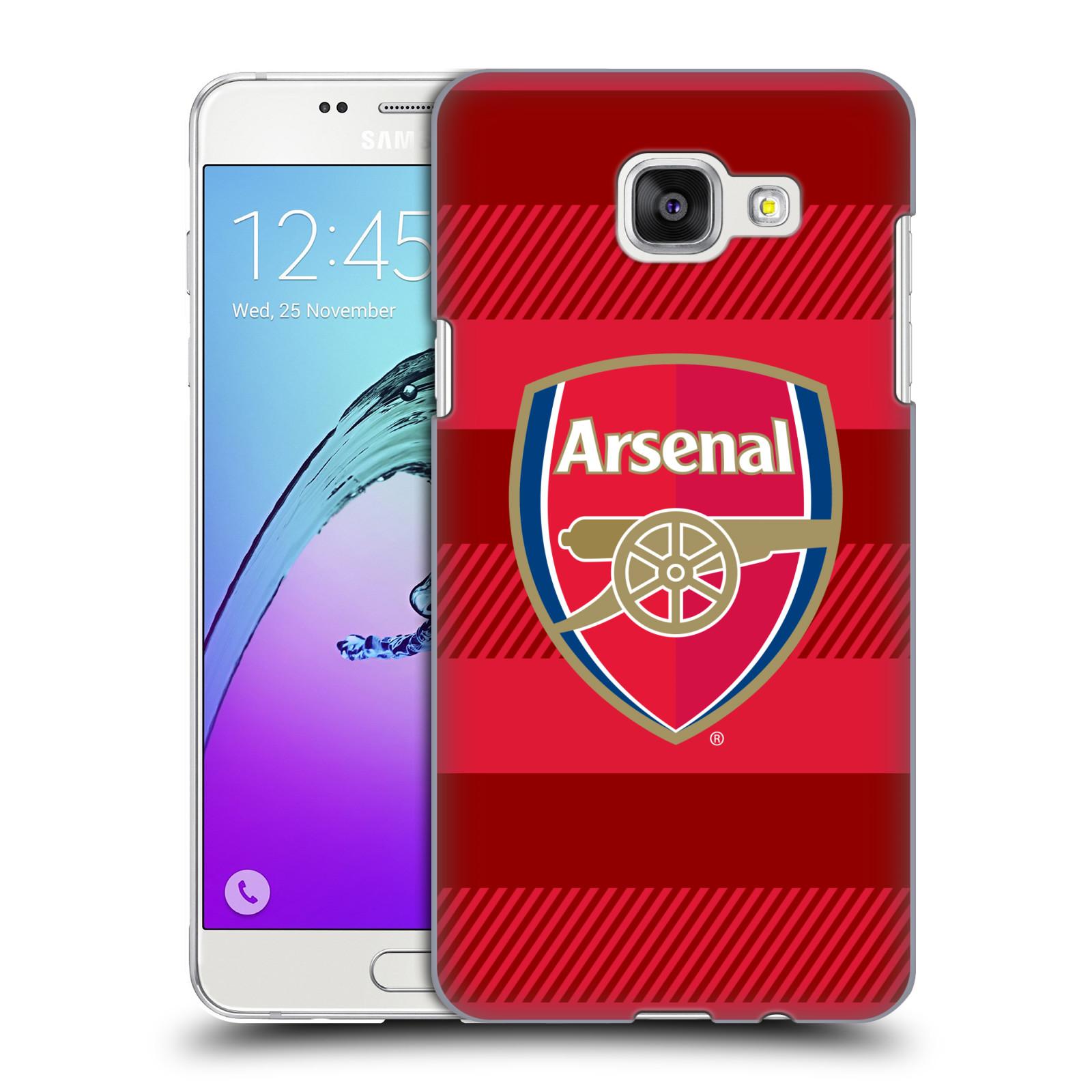 Plastové pouzdro na mobil Samsung Galaxy A5 (2016) - Head Case - Arsenal FC - Logo s pruhy