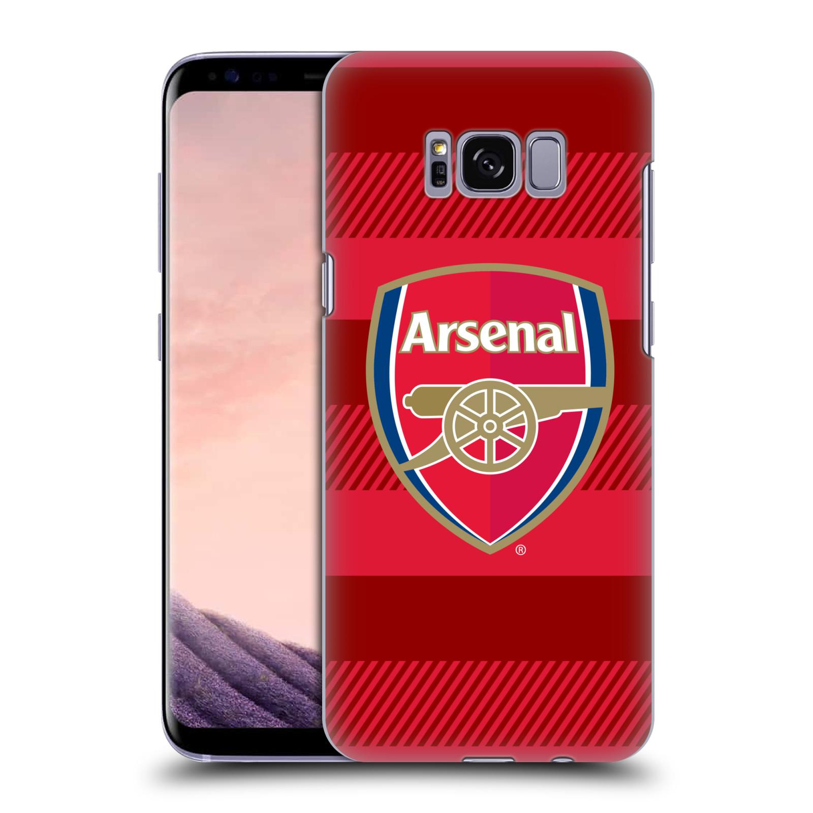 Plastové pouzdro na mobil Samsung Galaxy S8 - Head Case - Arsenal FC - Logo s pruhy
