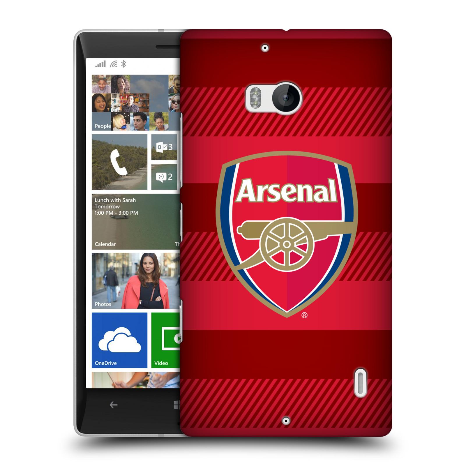Plastové pouzdro na mobil Nokia Lumia 930 - Head Case - Arsenal FC - Logo s pruhy