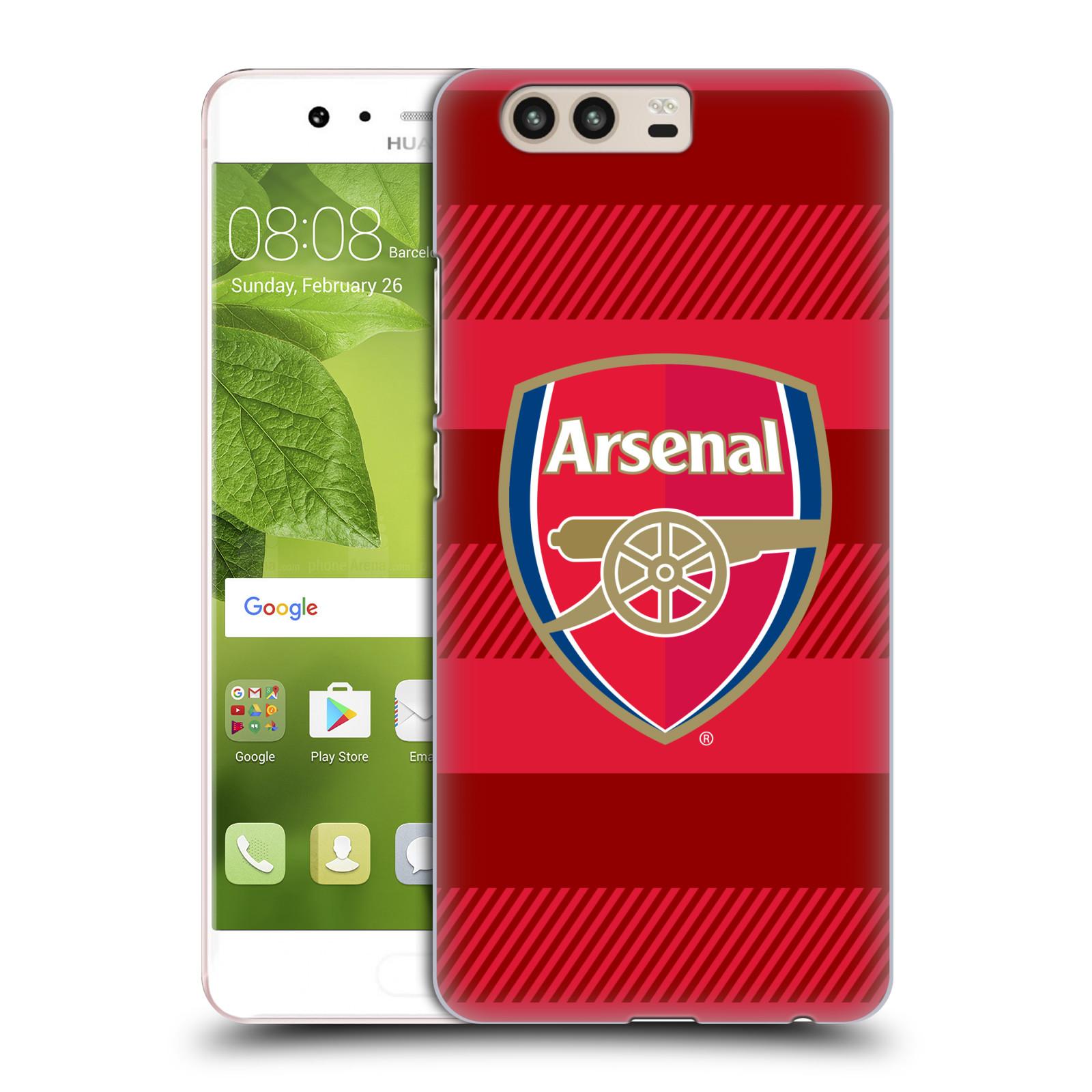 Plastové pouzdro na mobil Huawei P10 - Head Case - Arsenal FC - Logo s pruhy