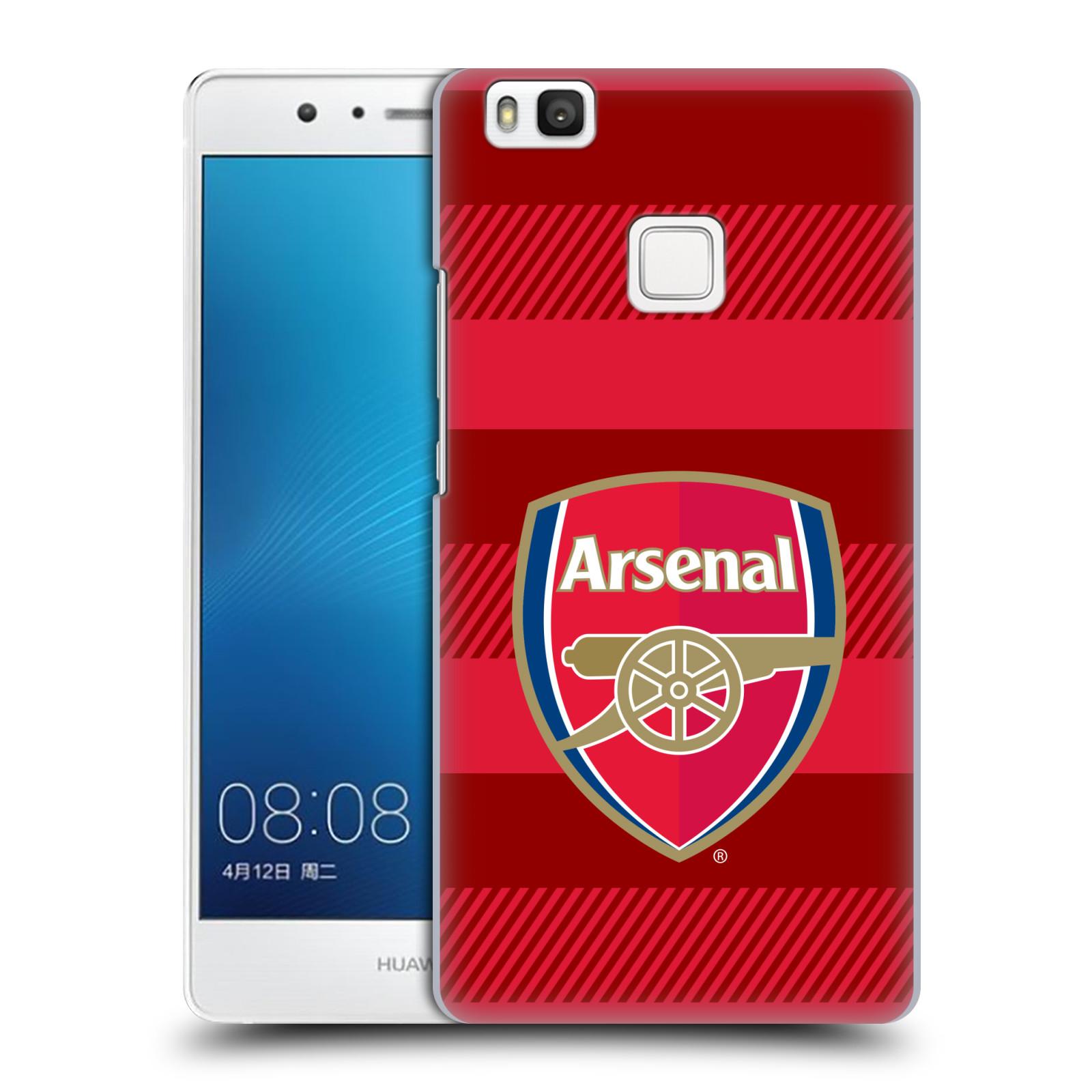 Plastové pouzdro na mobil Huawei P9 Lite - Head Case - Arsenal FC - Logo s pruhy