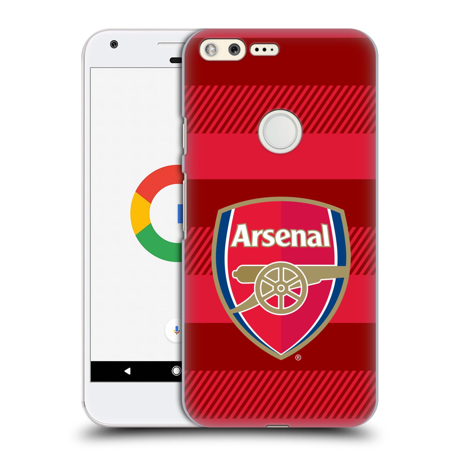 Plastové pouzdro na mobil Google Pixel - Head Case - Arsenal FC - Logo s pruhy